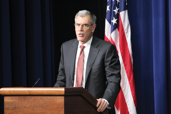 Solicitor General Don Verrilli, the likely next Attorney General of the United States.