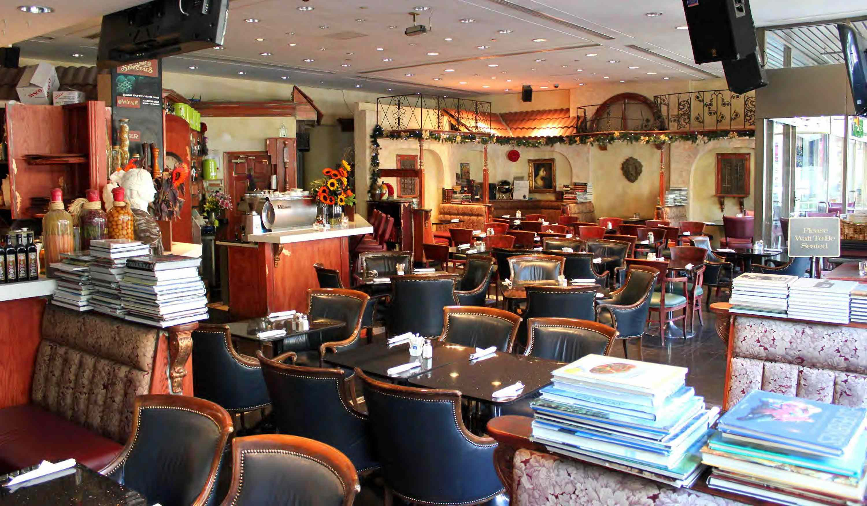Bellaggio Cafe in Vancouver