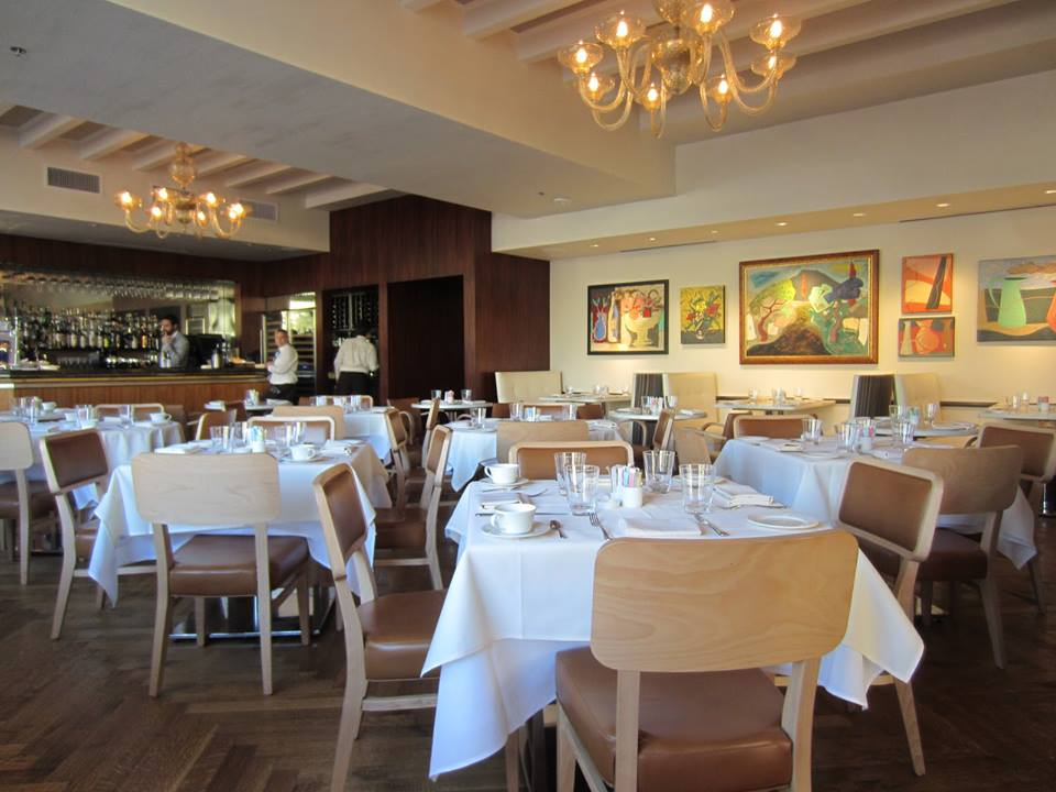 Avner Samuel designed the new menu for Lombardi's Bistro 31.