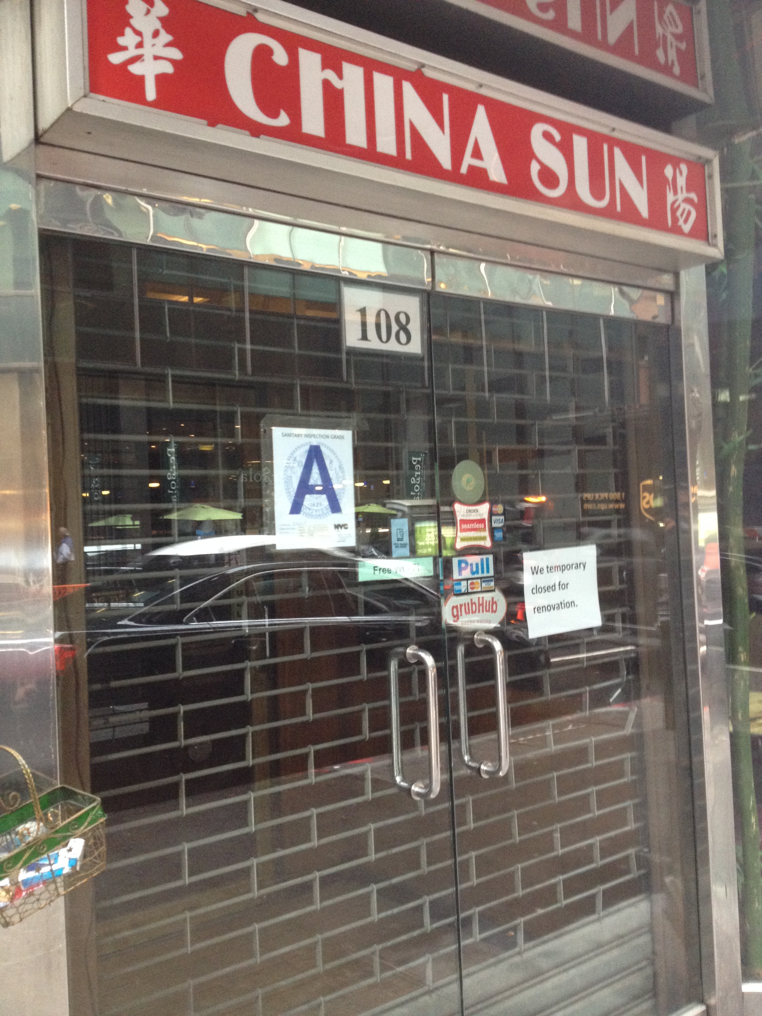 Is China Sun really closed?