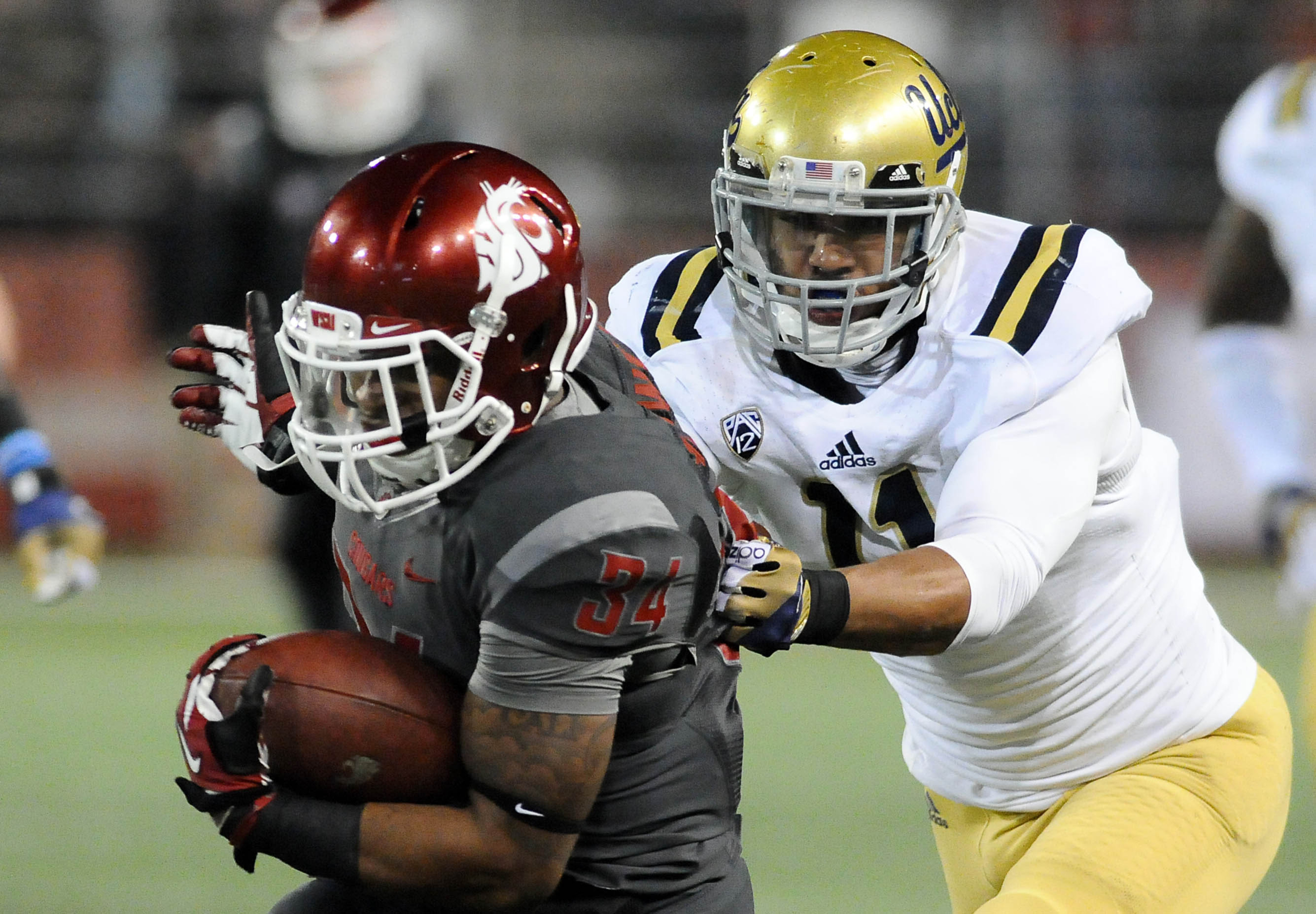 All Pac-12 LB Anthony Barr and the Bruins will need to slow the Stanford run game on Friday.