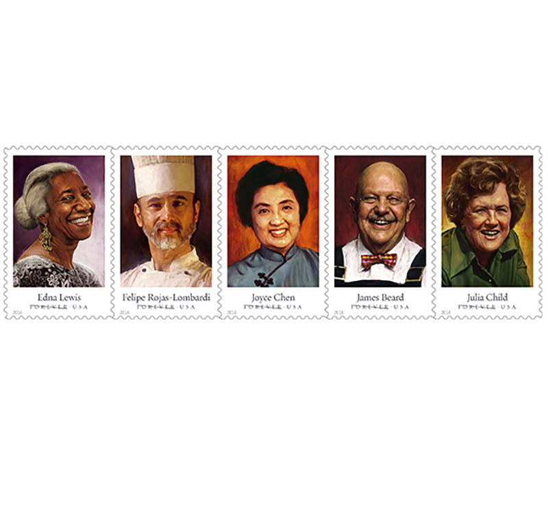 Are You Ready to Drop Hella Cash on James Beard and Julia Child Stamps Today?