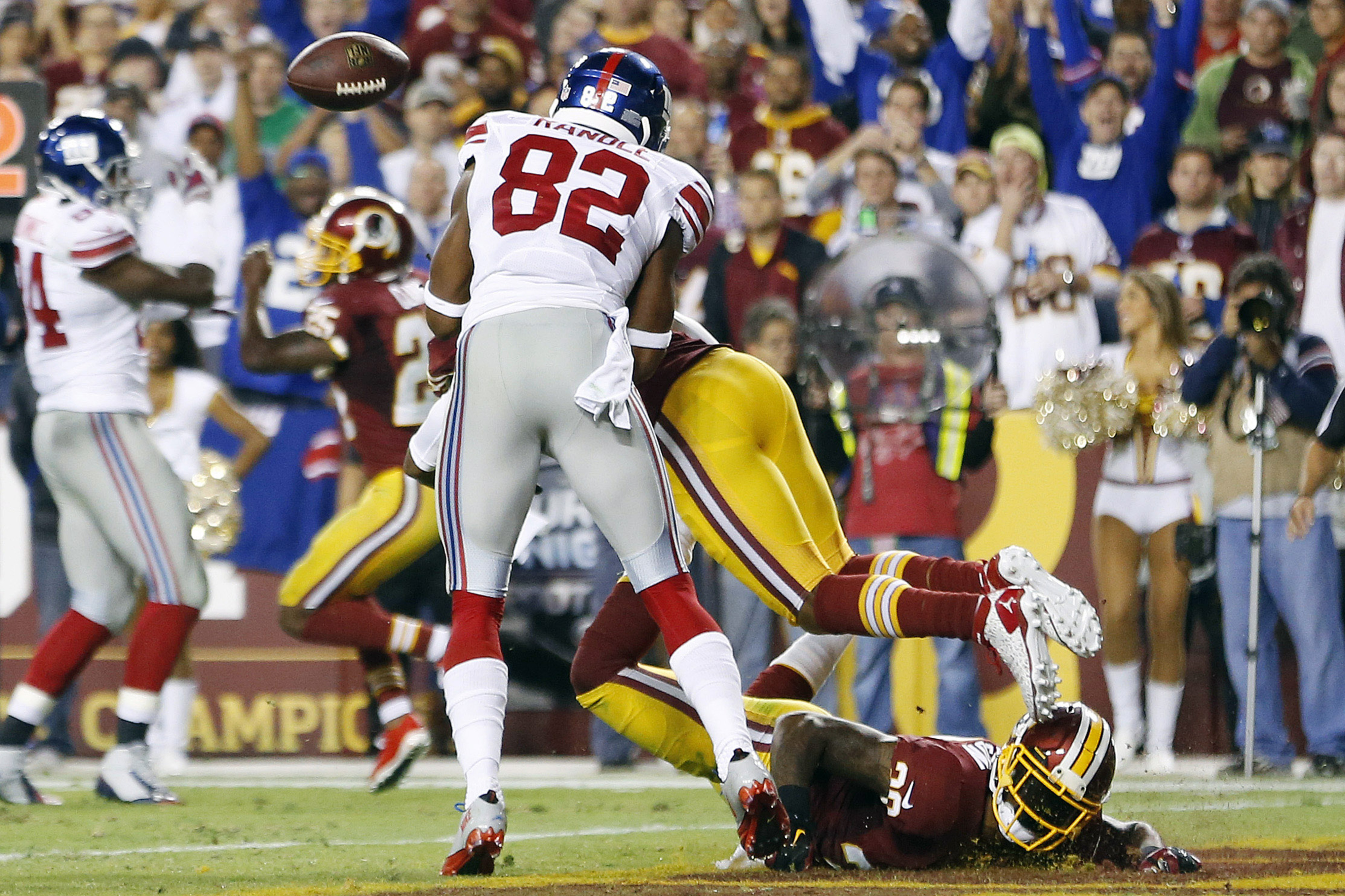 Should the Giants have gotten a touchdown on this play Thursday night?