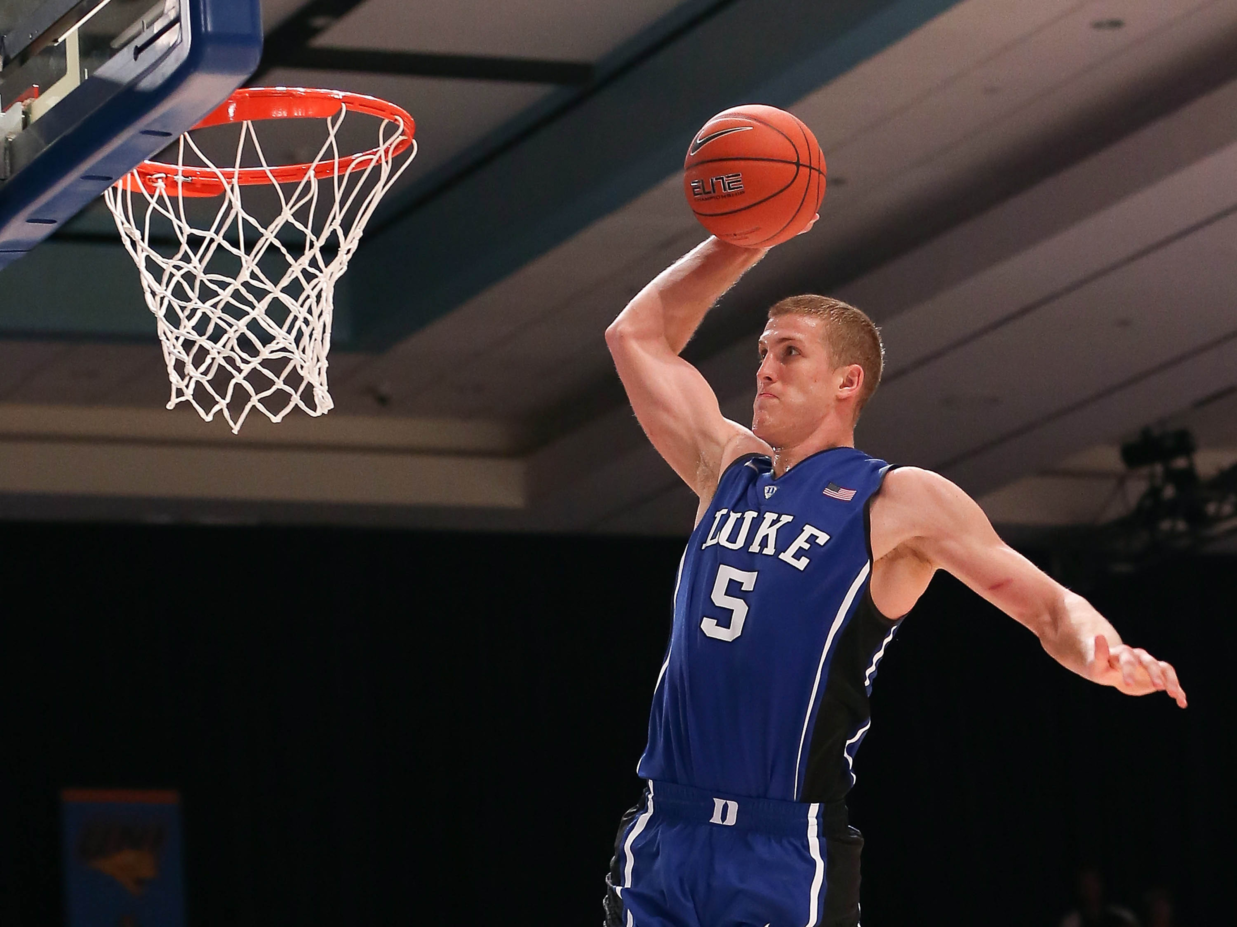 One of the remaining Plumlees leads Duke into its Top 5 showdown with Ohio State.