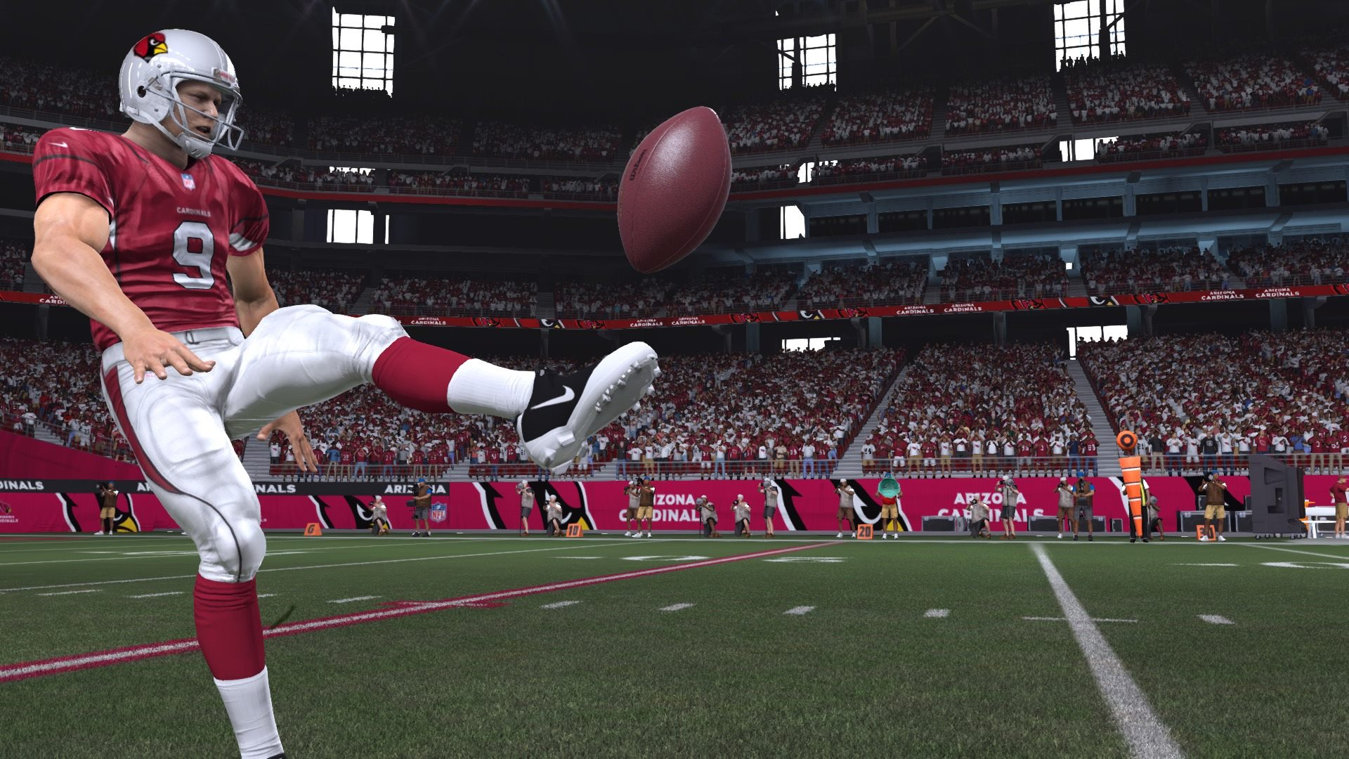 How Madden 15 put the foot back in football