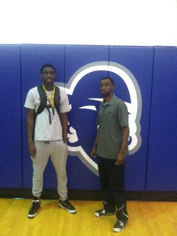 Mamadou and BMore's Finest AAU coach Ken Gibson