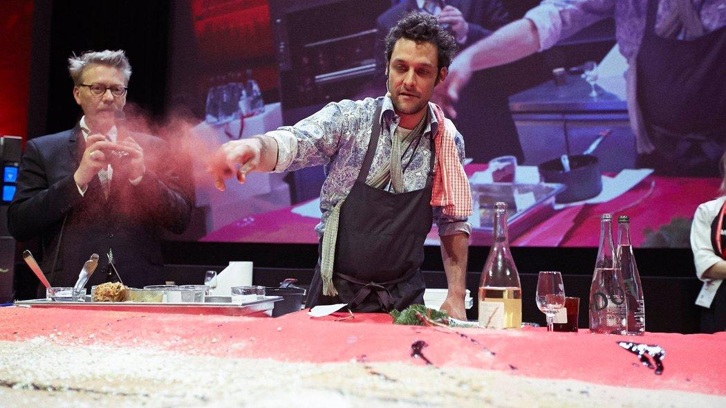 Charles-Antoine Crête at Omnivore Paris