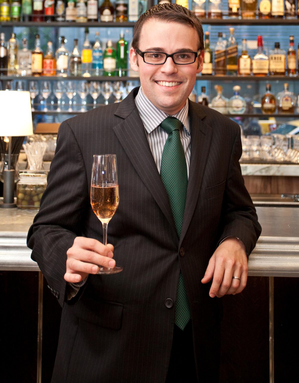 Joe Camper, head sommelier at Bar Boulud in Boston