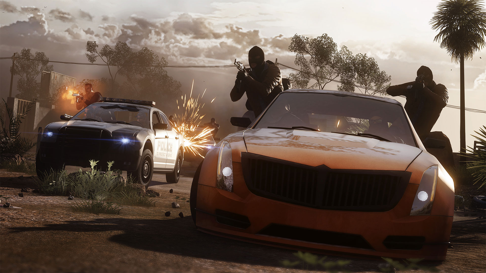 Battlefield Hardline creative director on the game's 'spiritual center,' police militarization