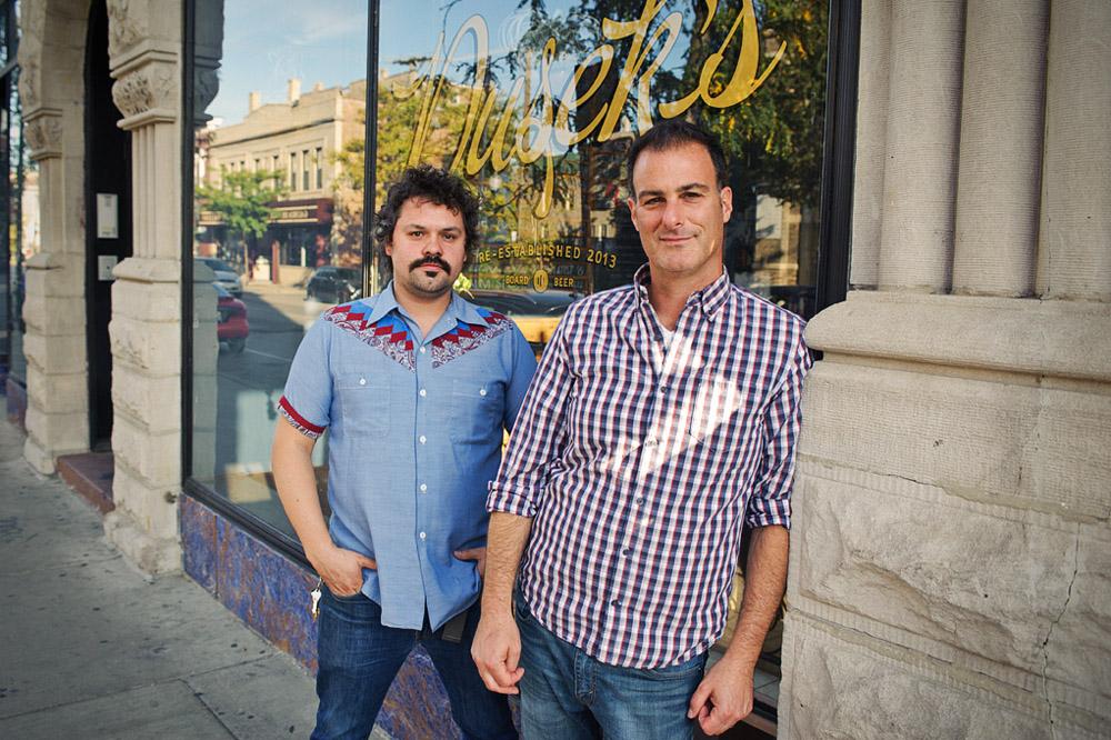 Bruce Finkelman and Will Duncan