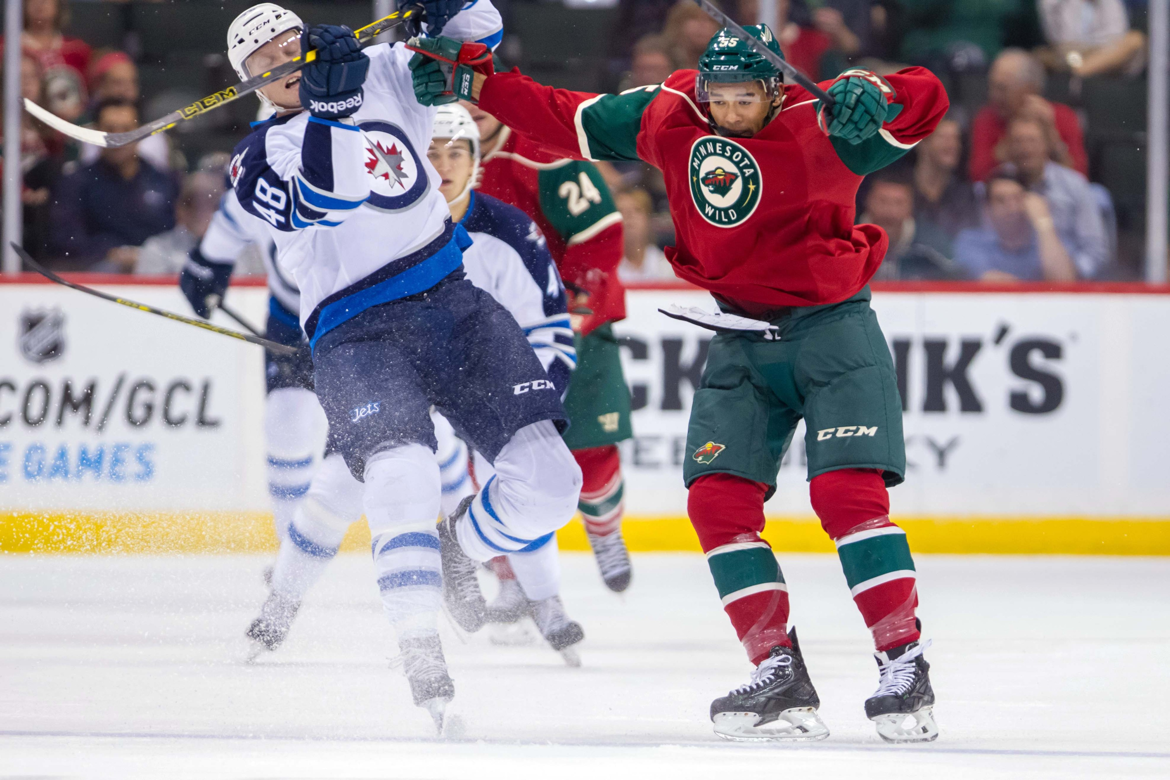 Mat Dumba brings physicality, showman ship, and a ton of skills to the Wild, if they're smart enough to play him.