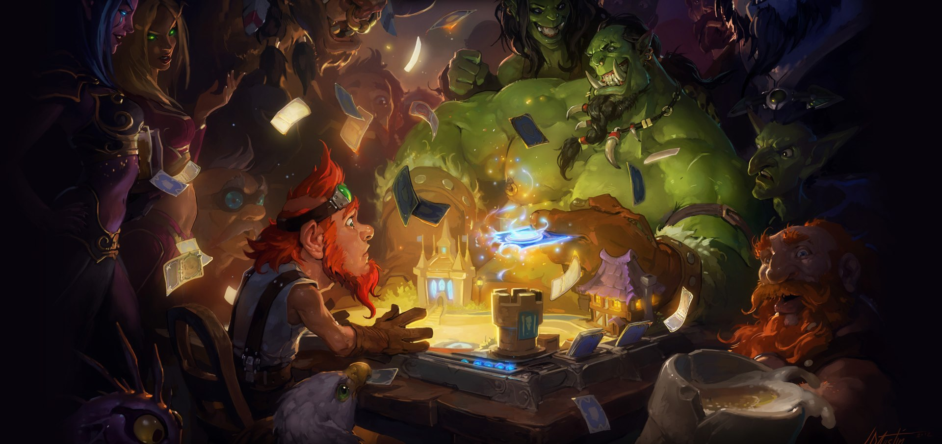 Hearthstone's next add-on will be a full expansion with over 100 new cards