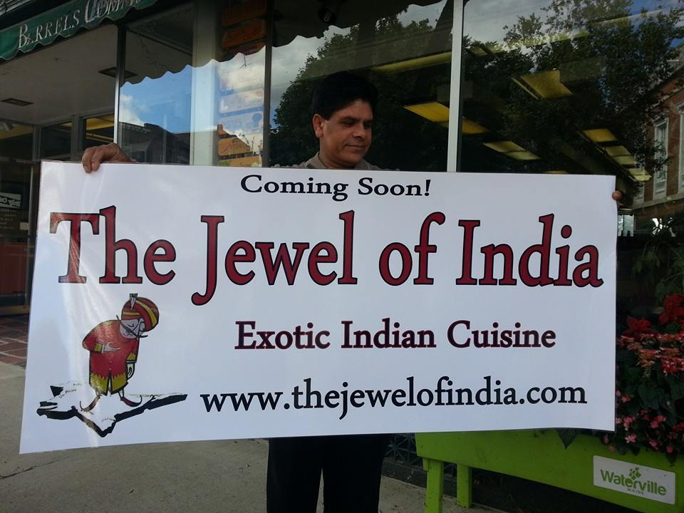 The Jewel of India is opening a third location in Waterville.