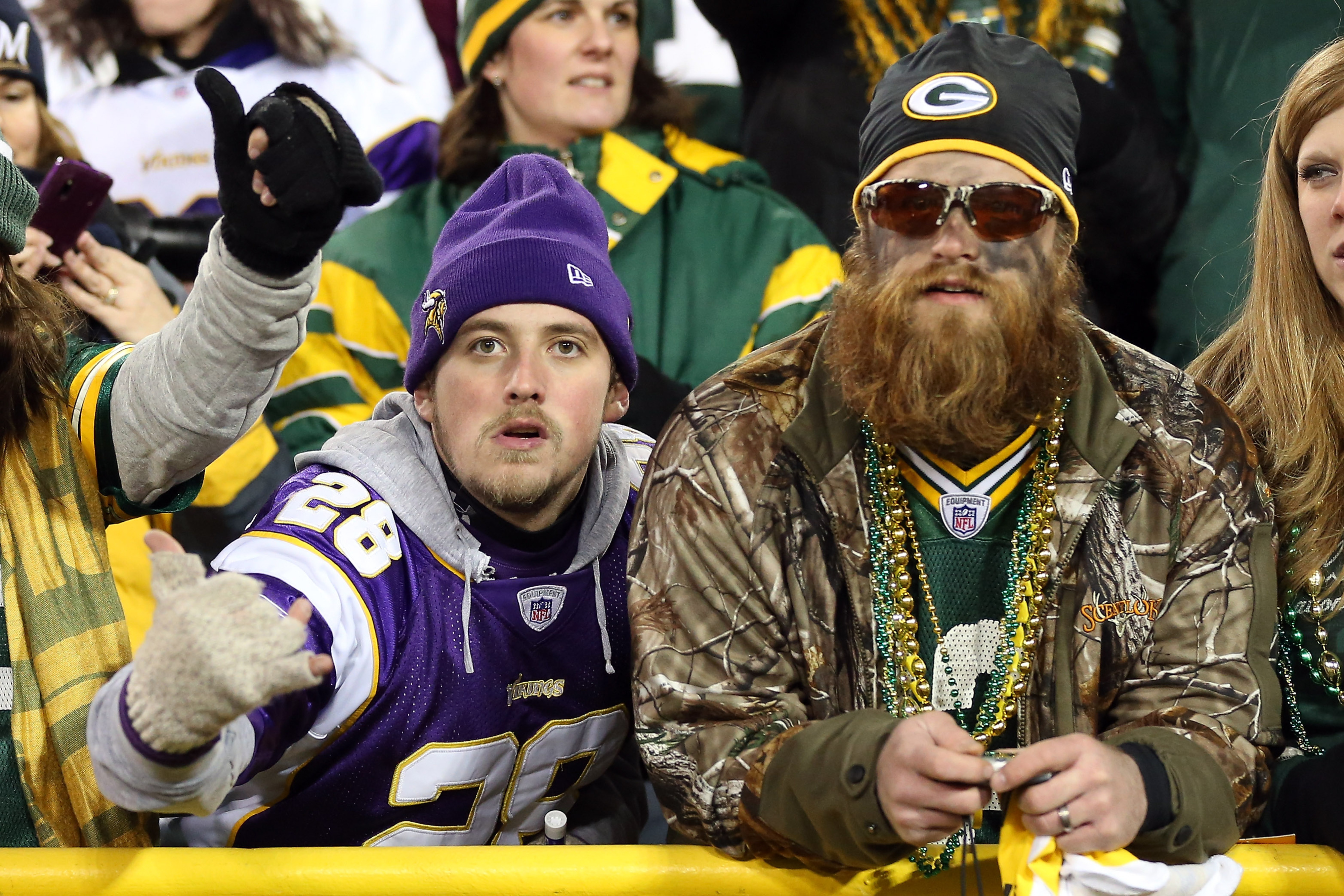 We will neither confirm nor deny whether these people are actually Eric and Tex.