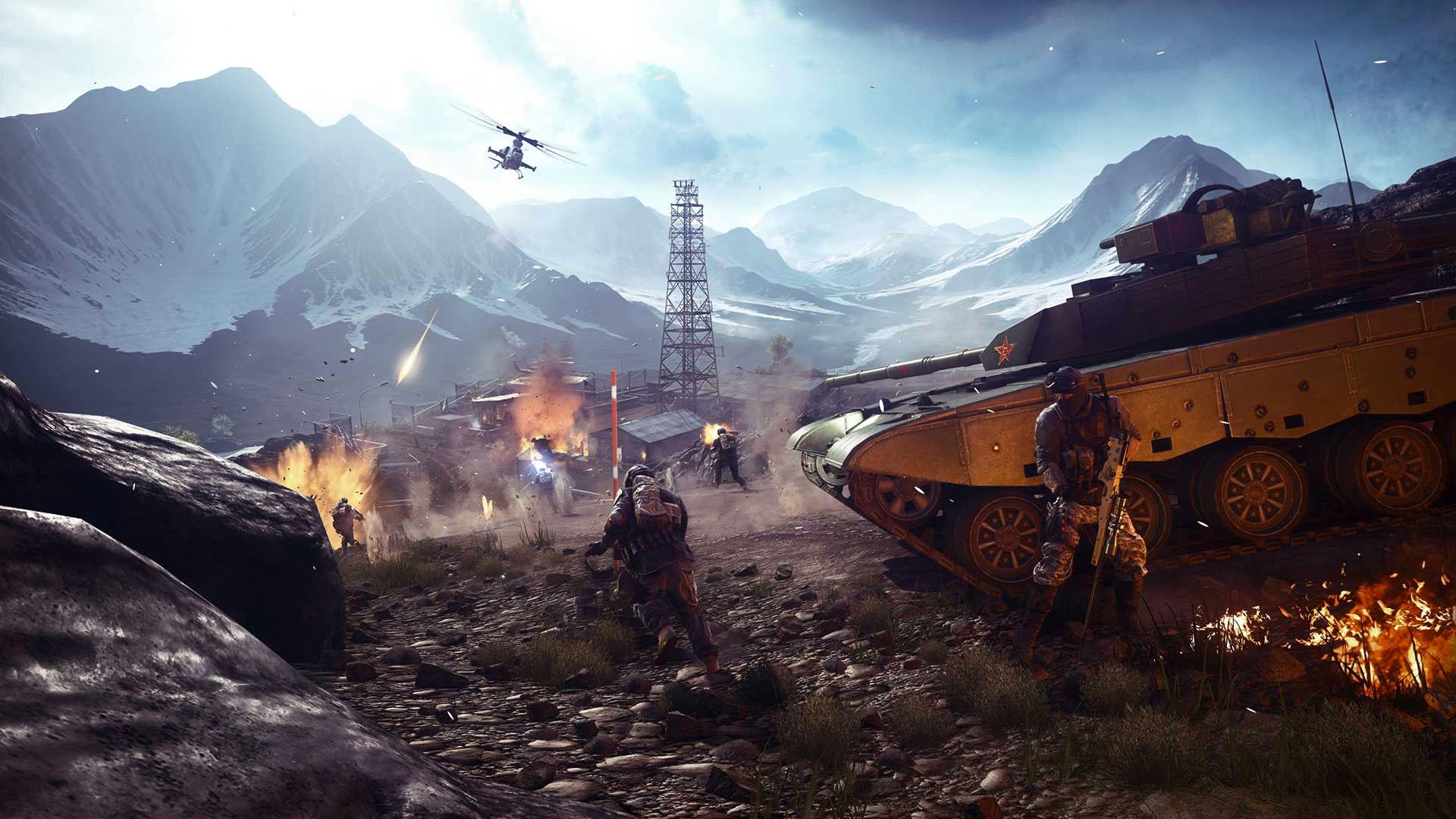 Battlefield 4's big fall update brings faster netcode, 'classic' Battlefield tweaks