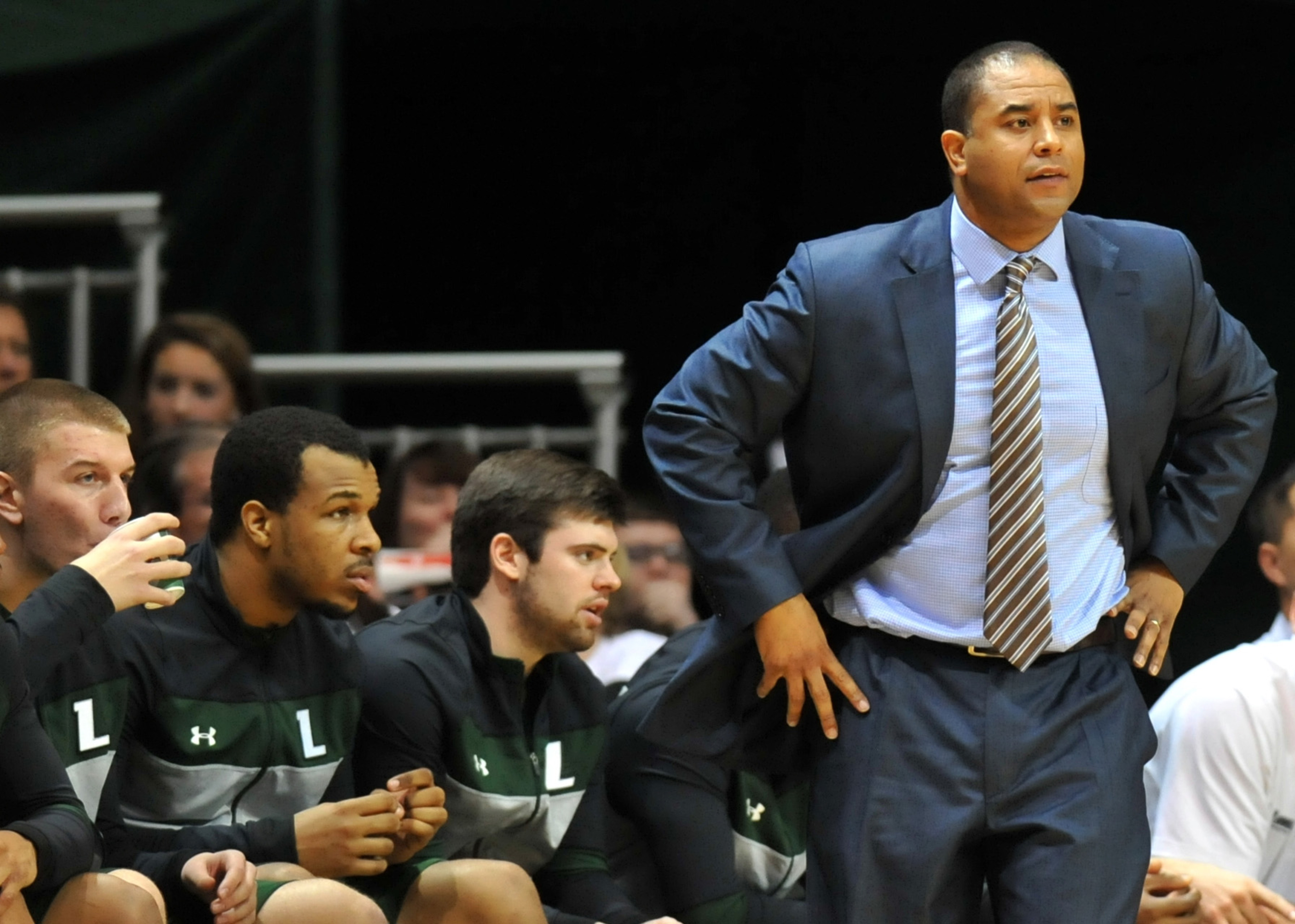 Loyola (Md.) head coach G.G. Smith has reeled in his first 2015 recruit.