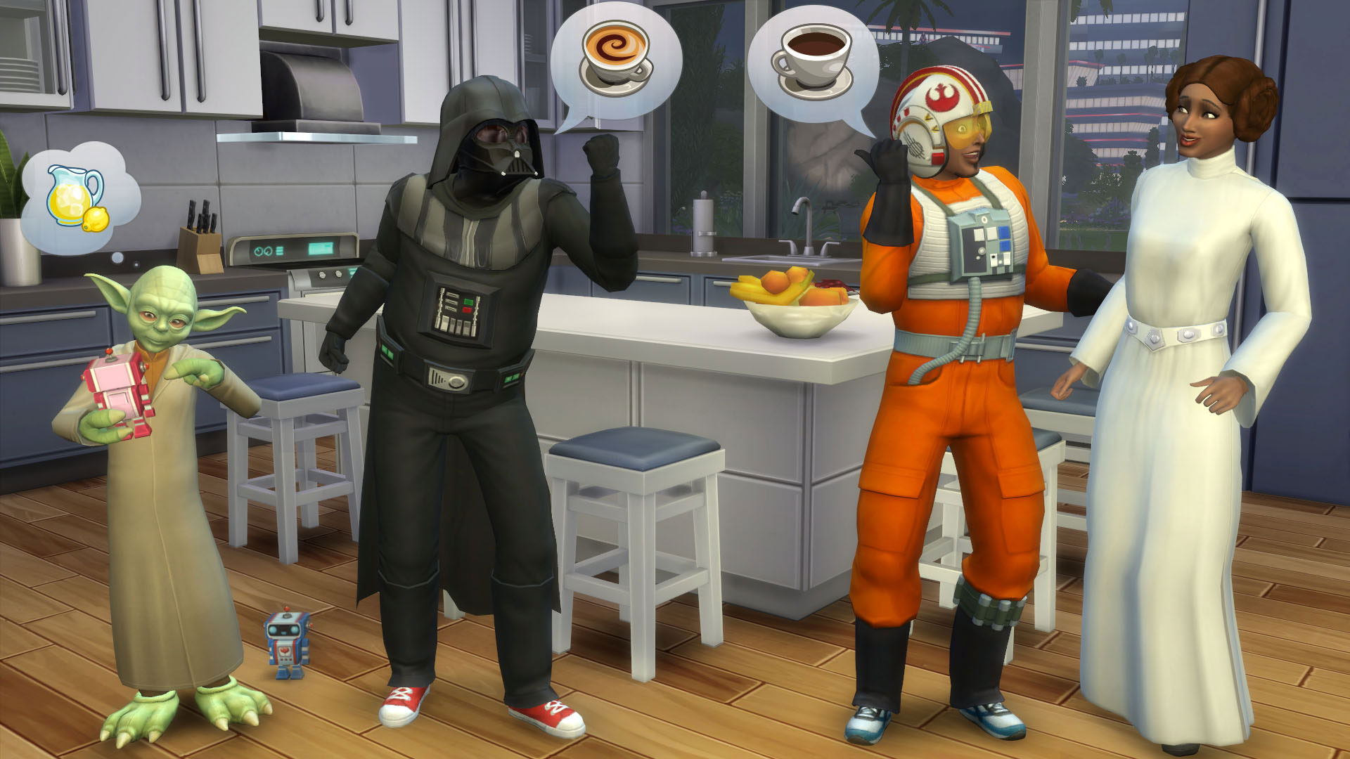 The Sims 4 gets Star Wars costumes, ghosts and swimming pools in free updates