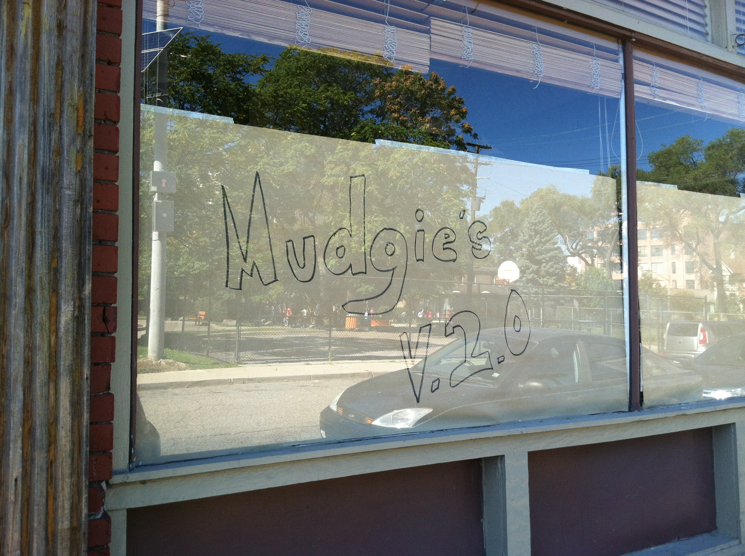 Mudgie's.