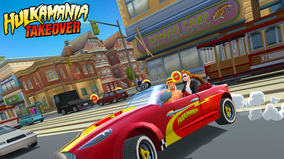 Crazy Taxi: City Rush's latest update adds ... Hulk Hogan?