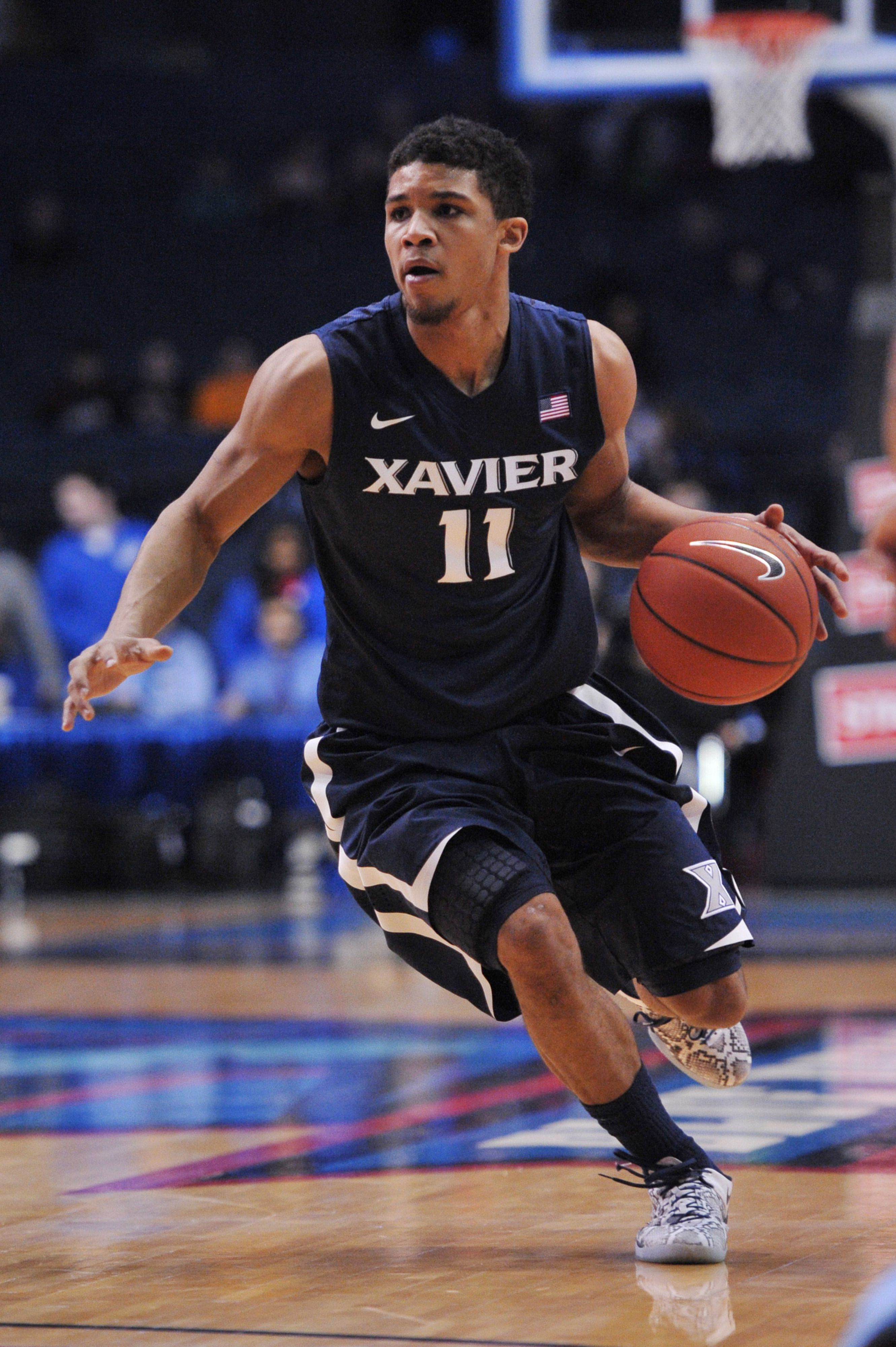Dee Davis will again be running the show for Xavier this year.