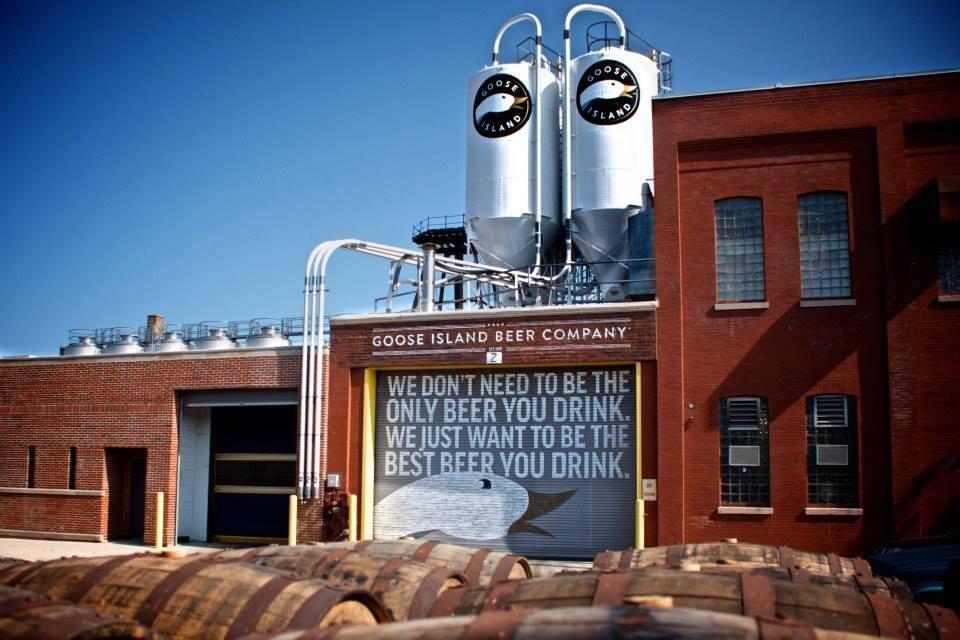 Goose Island Fulton Street Brewery