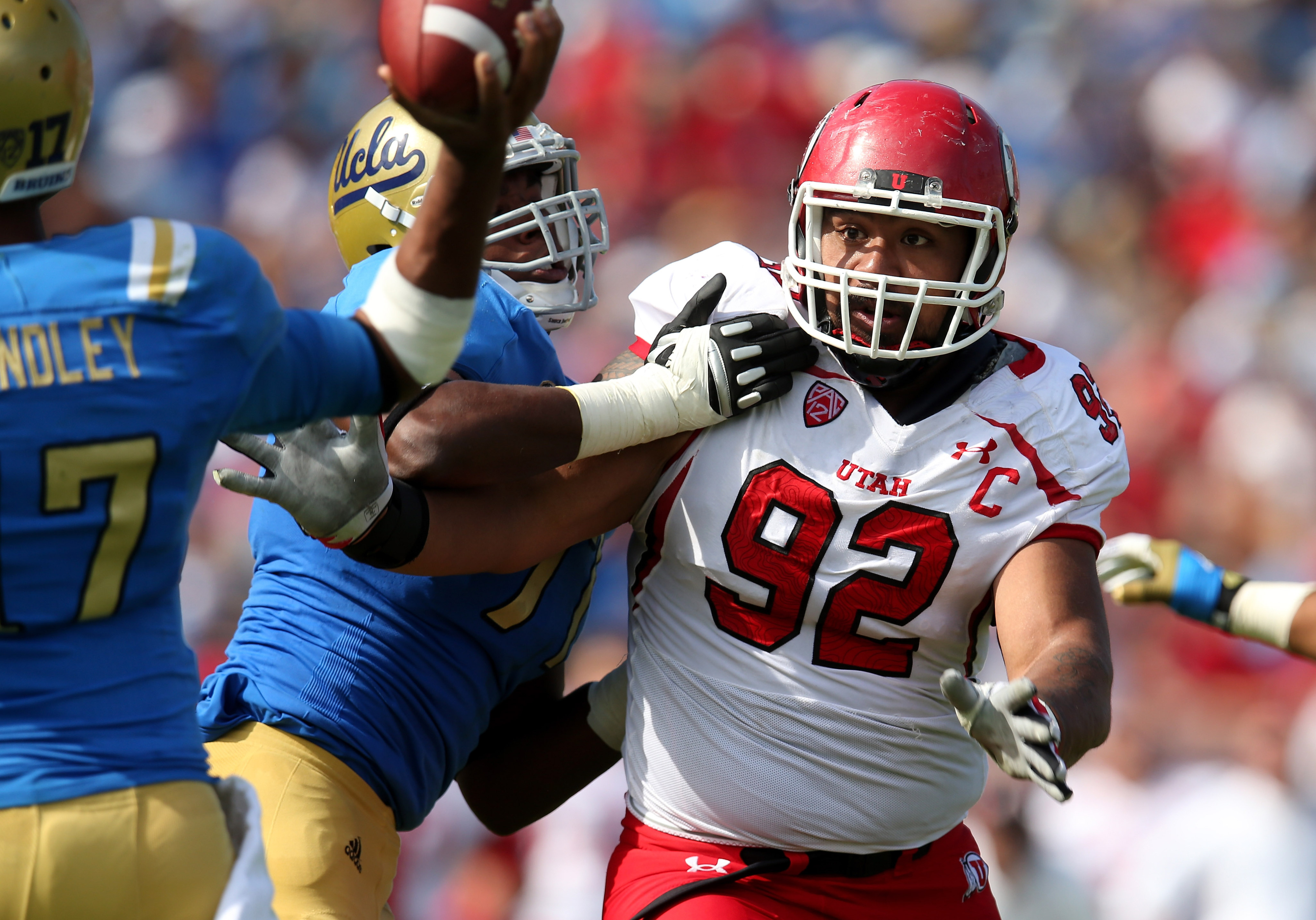 Star Lotulelei was anchoring Utah's d-line the last time the Utes were in the Rose Bowl.