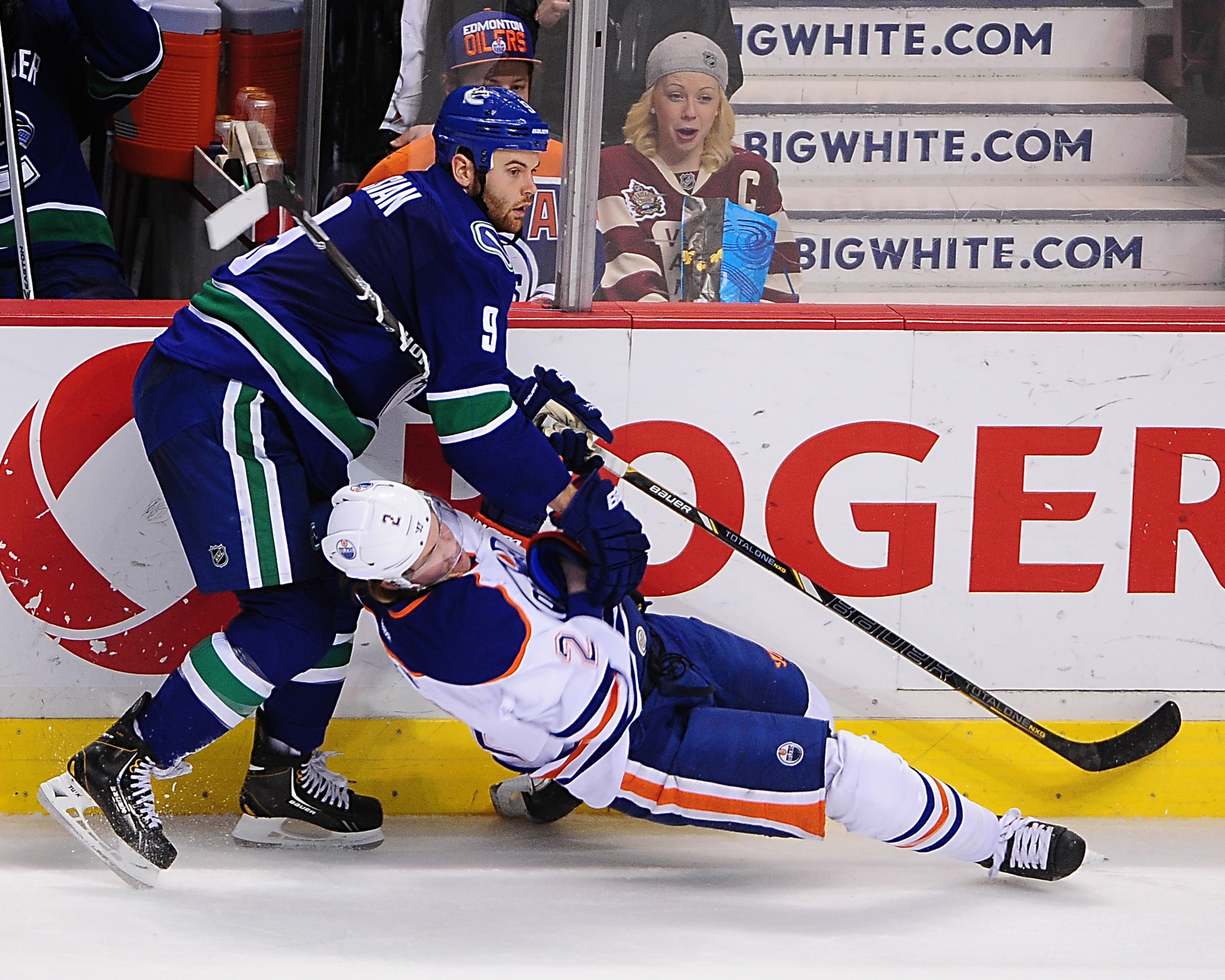 Kassian, trying to kill another Oiler. So dirty...