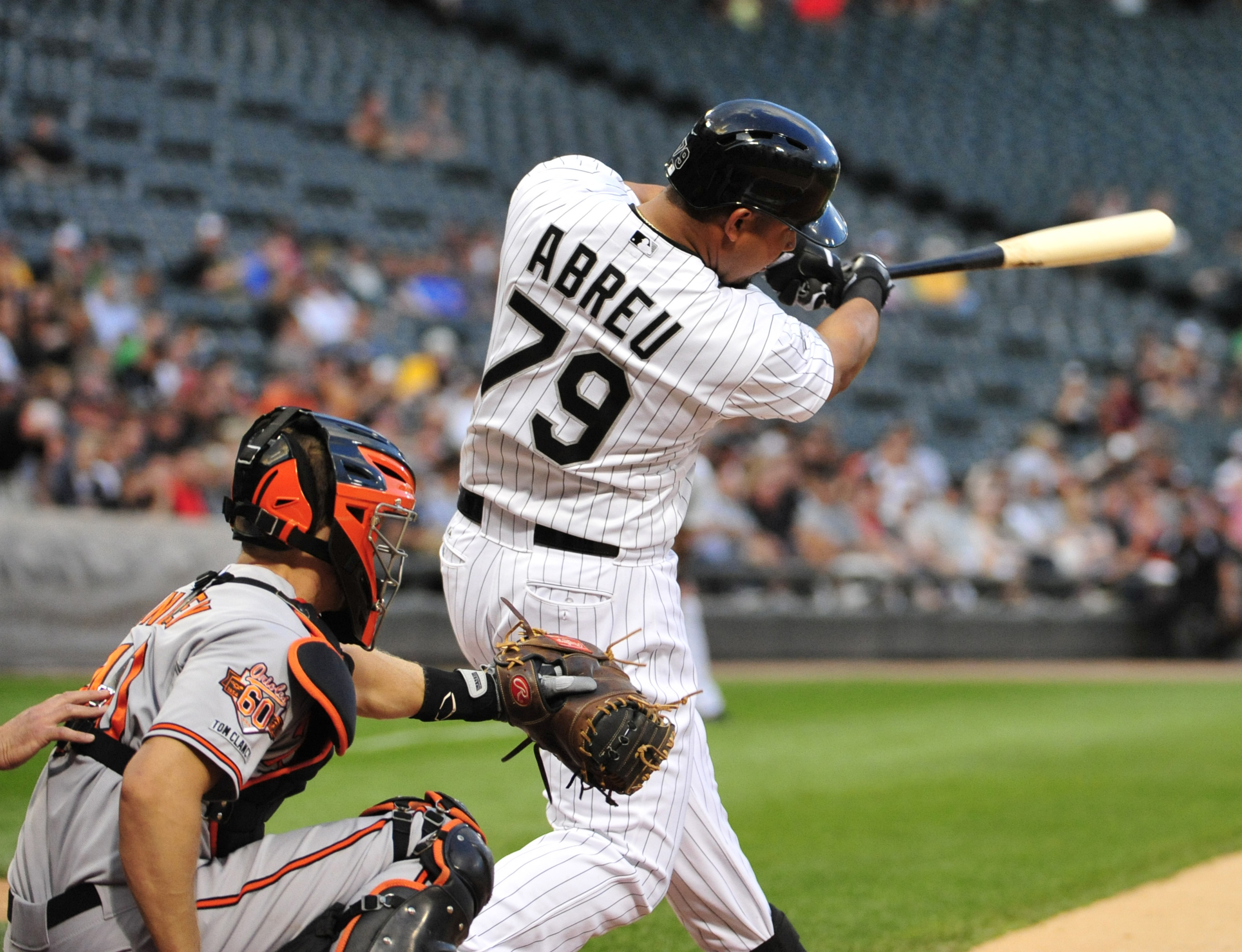 Finally, a real hitter on the South Side! Abreu earns an A+.