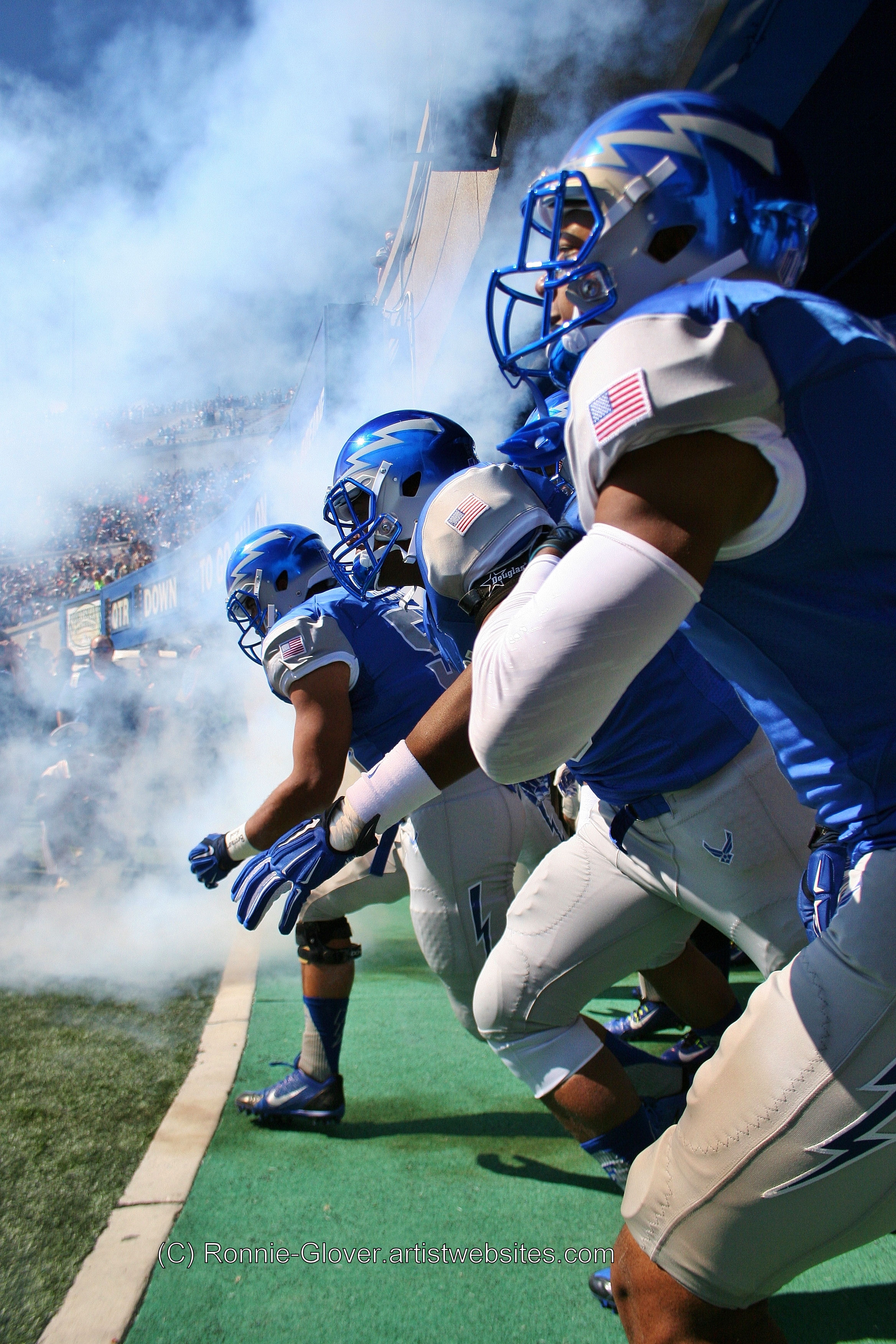 Air Force is about to take the field against Navy