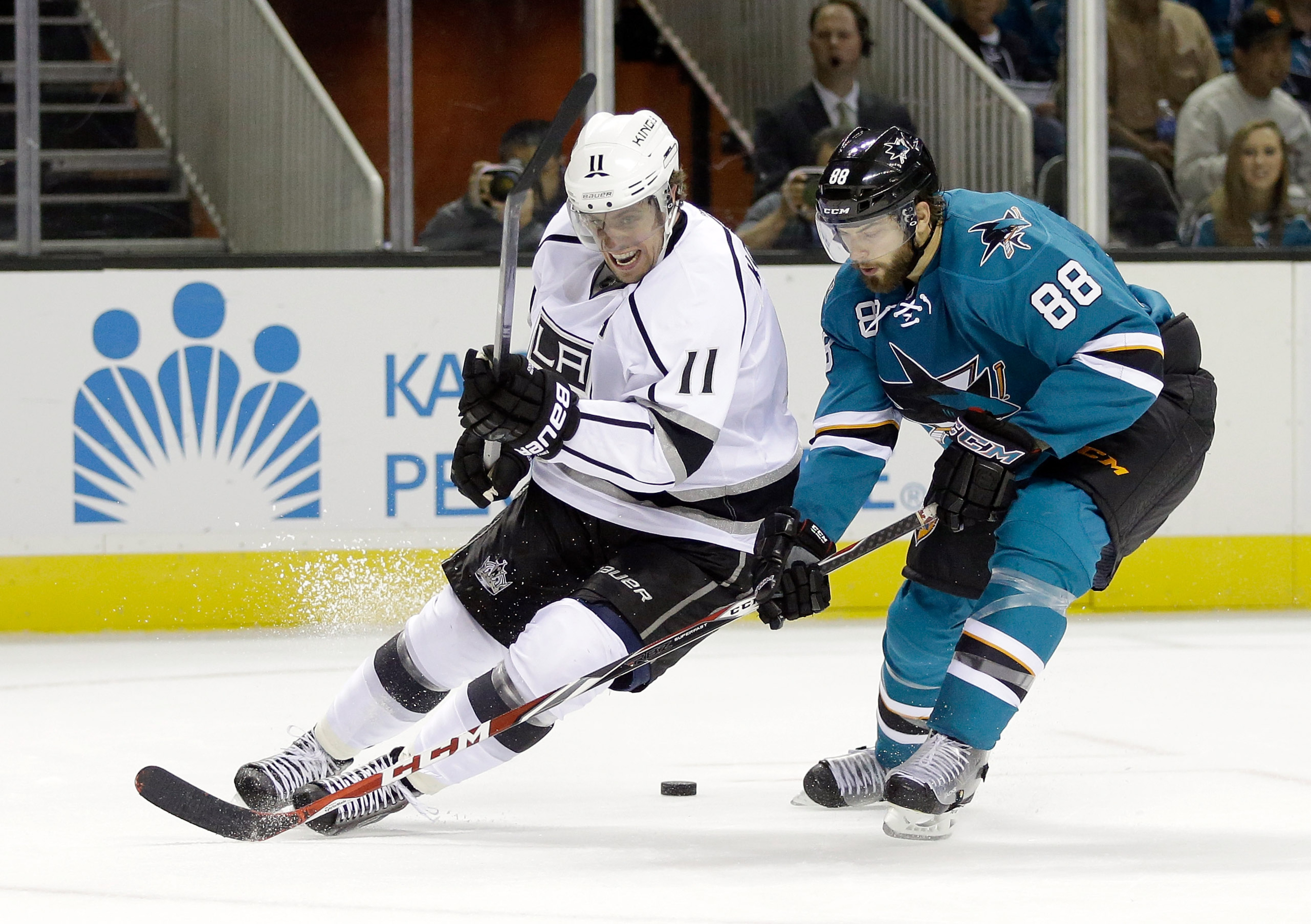 maybe we'll mention this Kopitar guy, I think he's pretty good