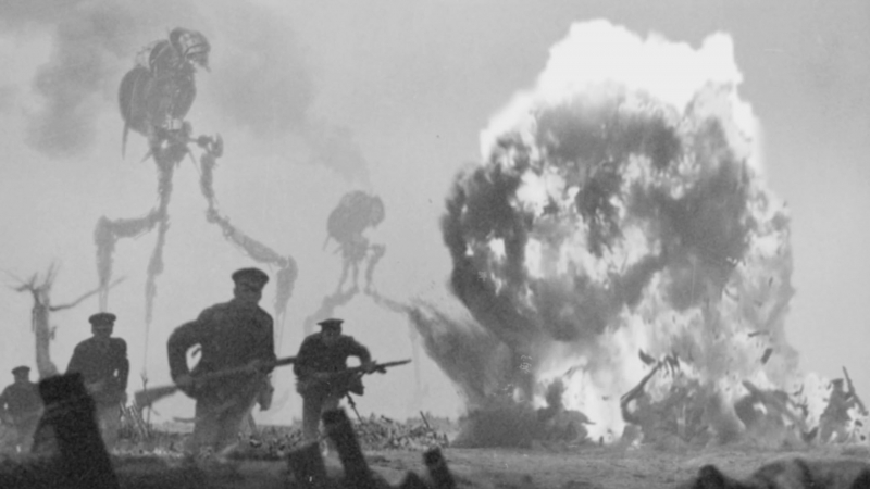 Here's what WWI would have looked like with aliens