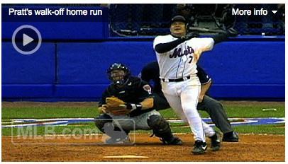Todd Pratt defeats the Diamondbacks, sending the Mets to the 1999 NLCS