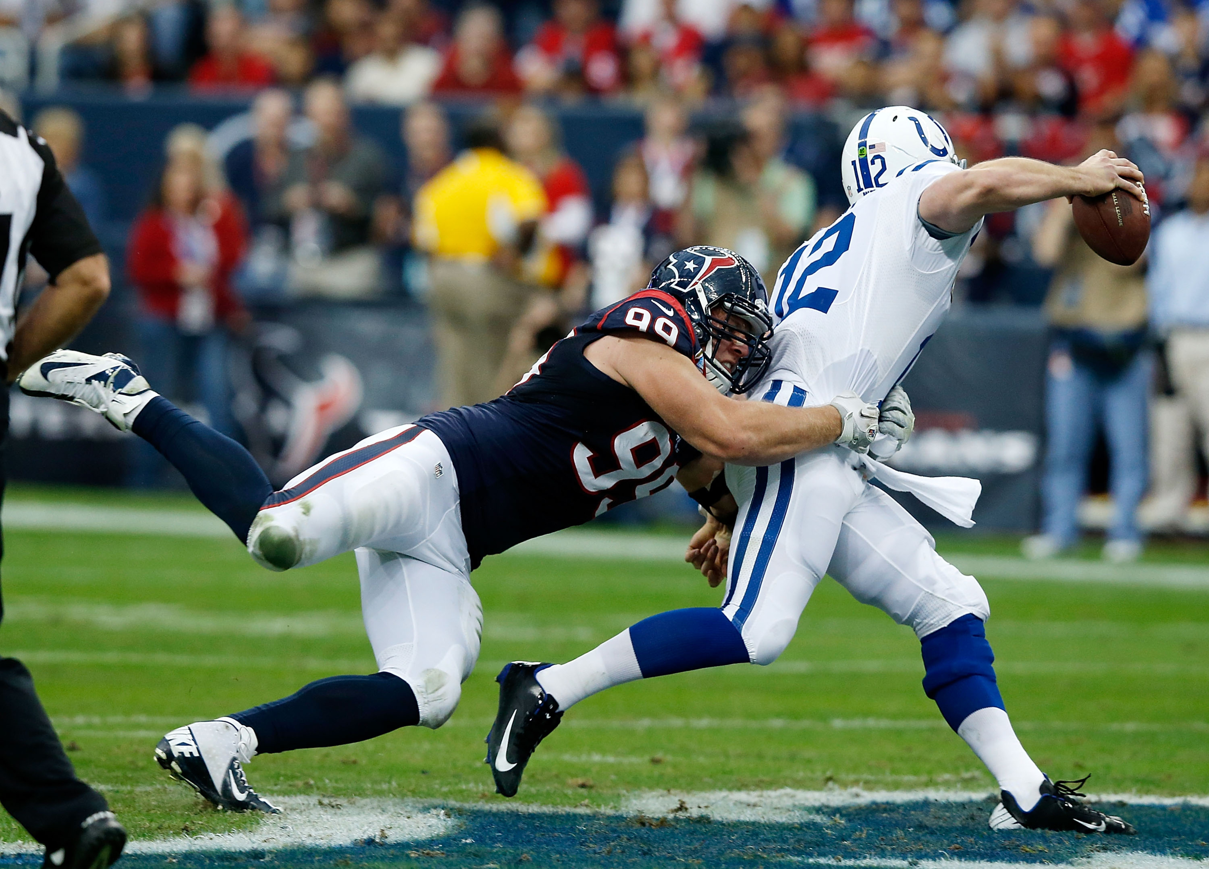 Houston's best versus Indianapolis' best.