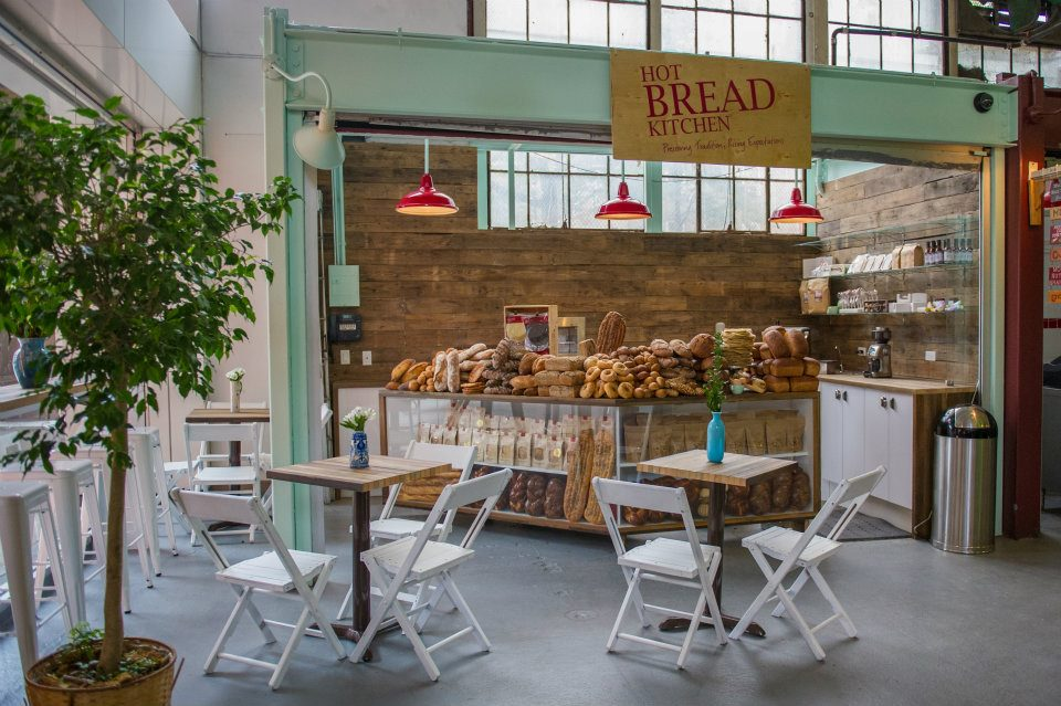 The Hot Bread Kitchen retail outpost at La Marqueta in Harlem