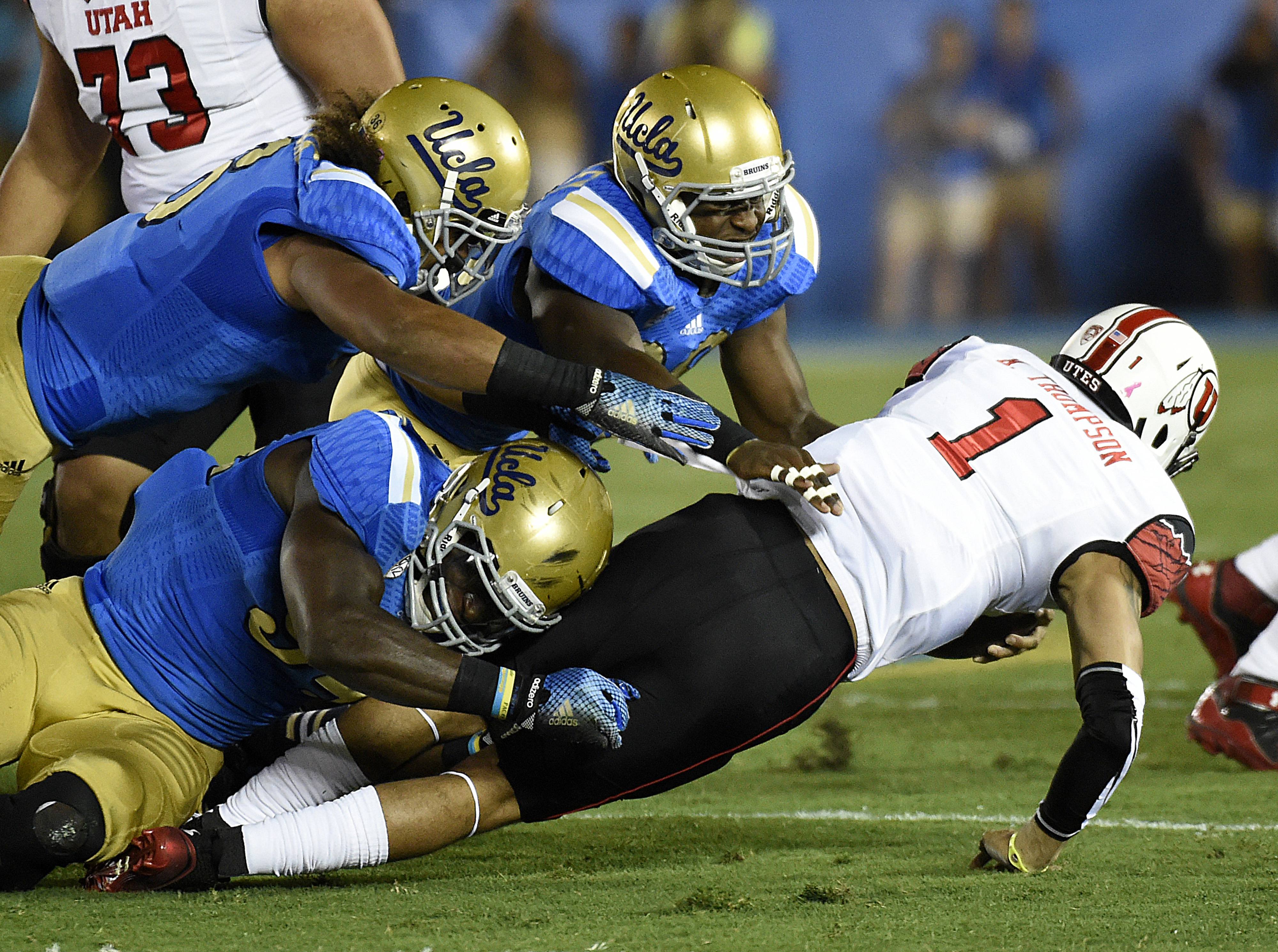 The Bruins will need to do this to Marcus Mariota a lot on Saturday.