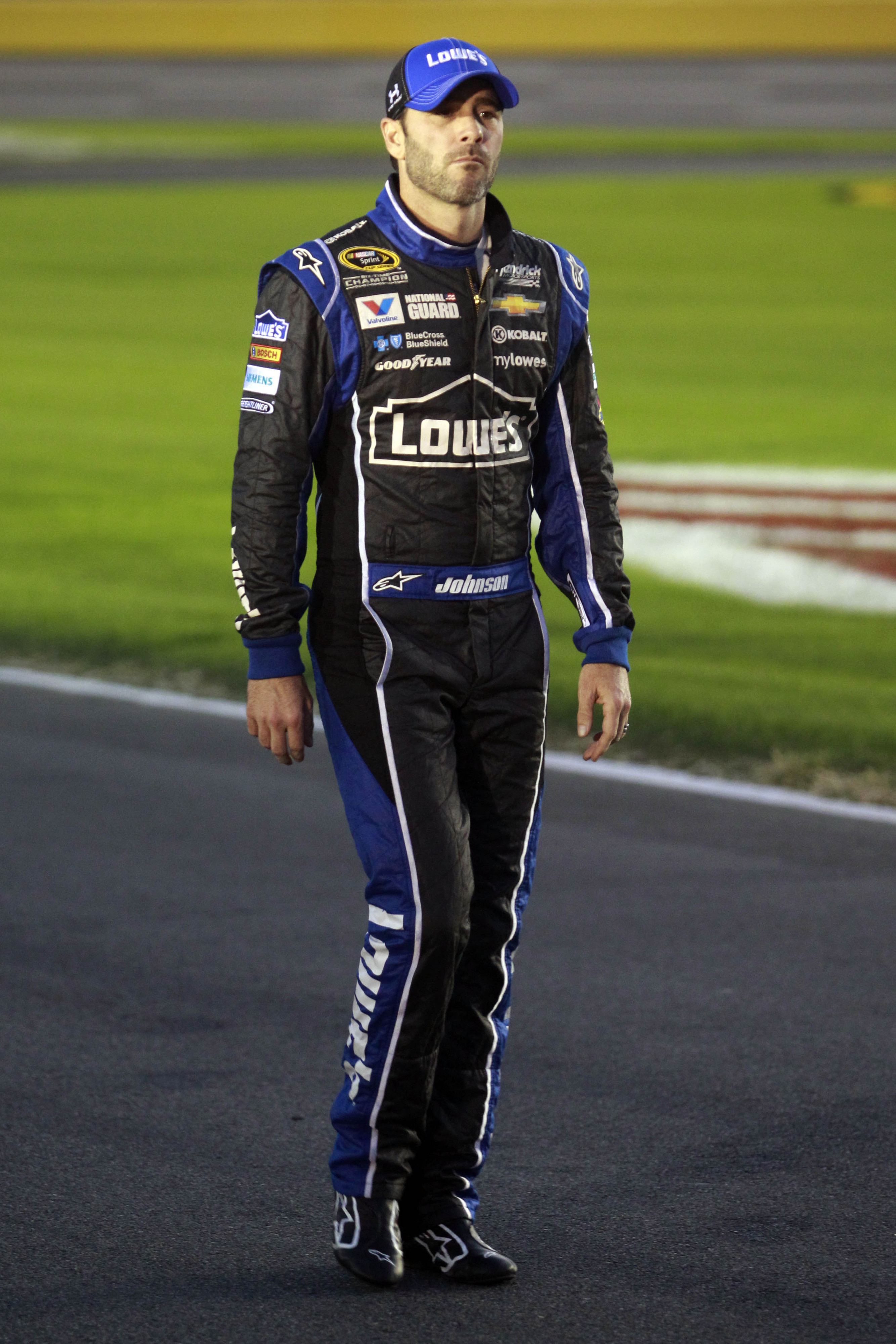 NASCAR Charlotte 2014: Jimmie Johnson: The championship is 'fading'