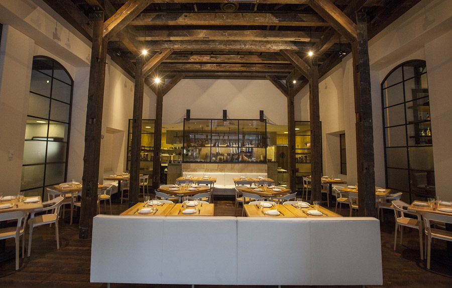The Cicchetti dining room