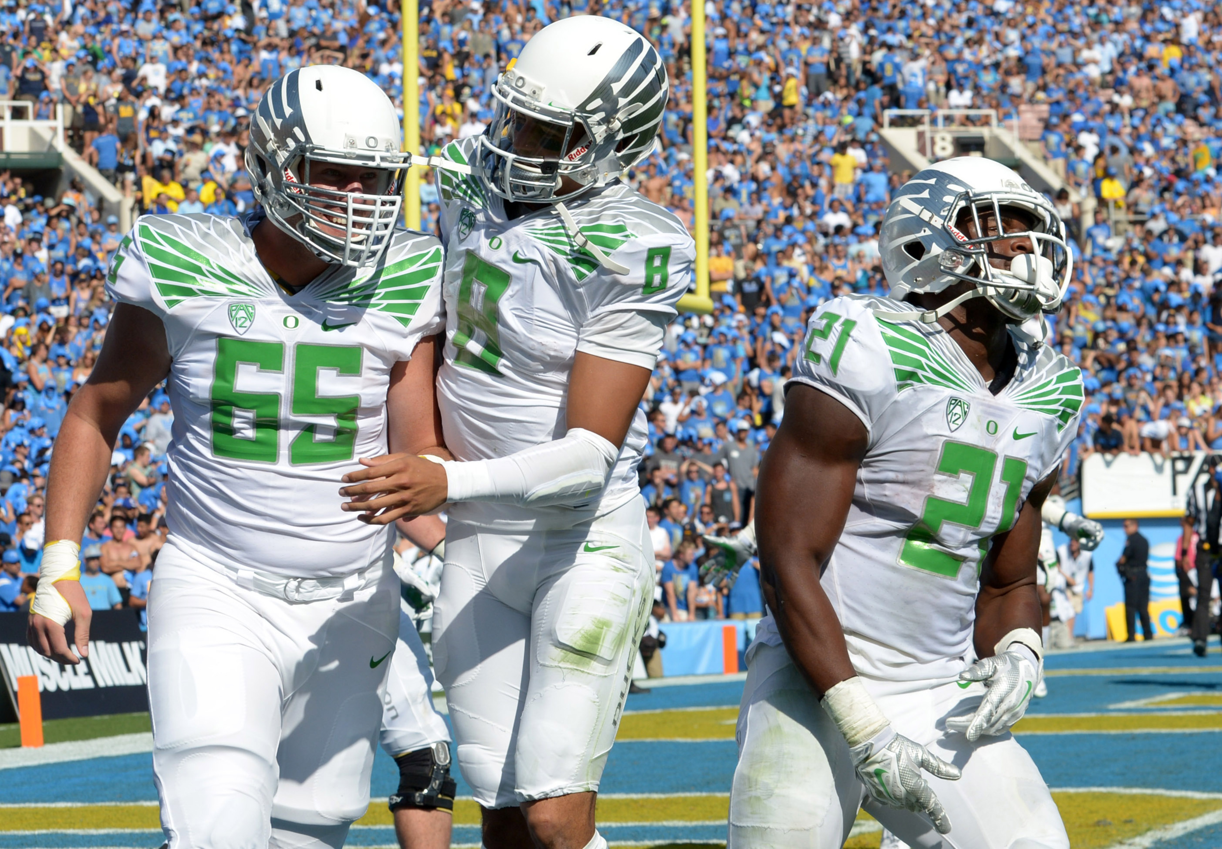Oregon Looked Good And Played Good On Saturday At UCLA