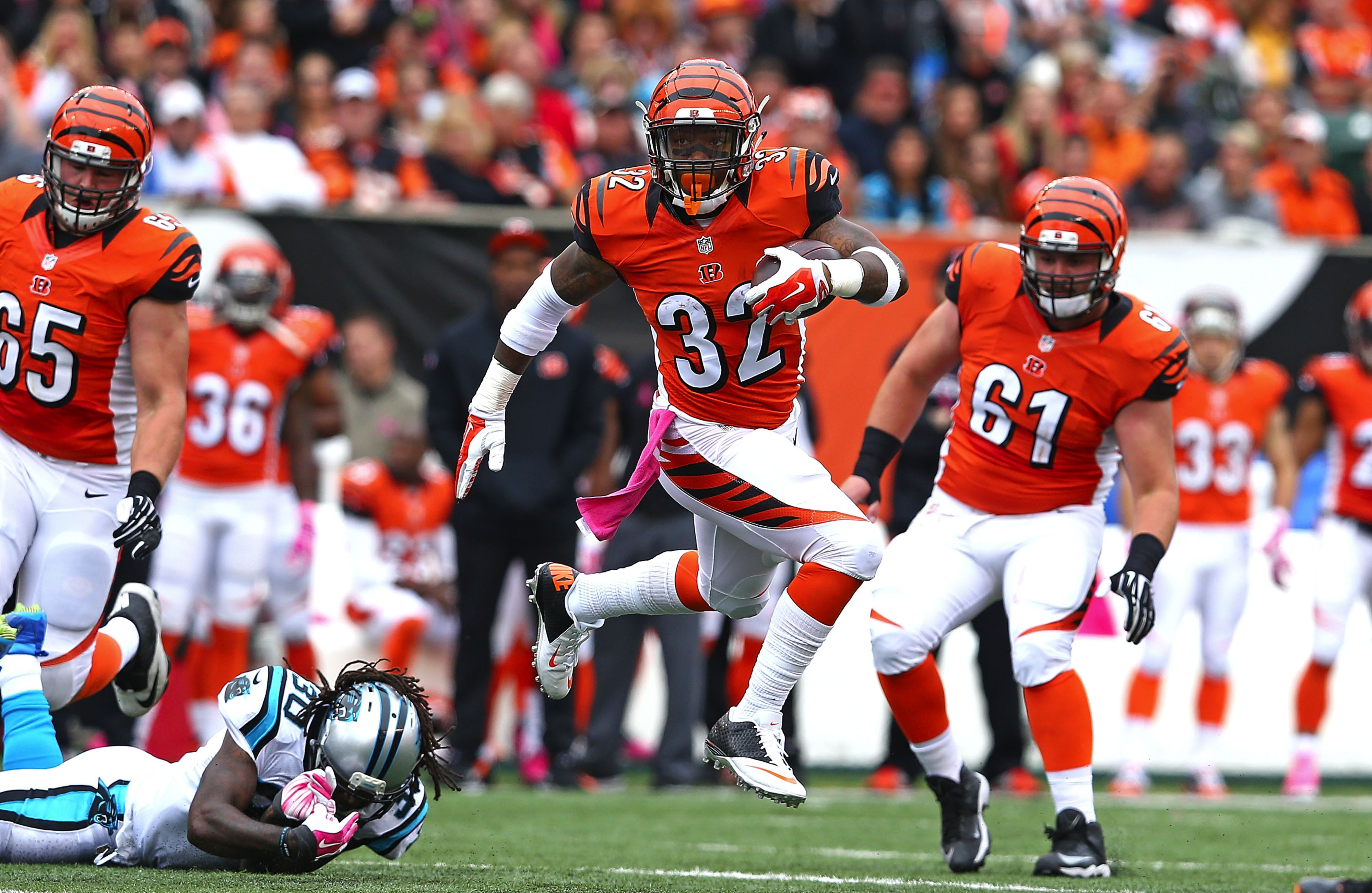 So far, Hill and Bodine are the cream of the crop of the Bengals rookies.