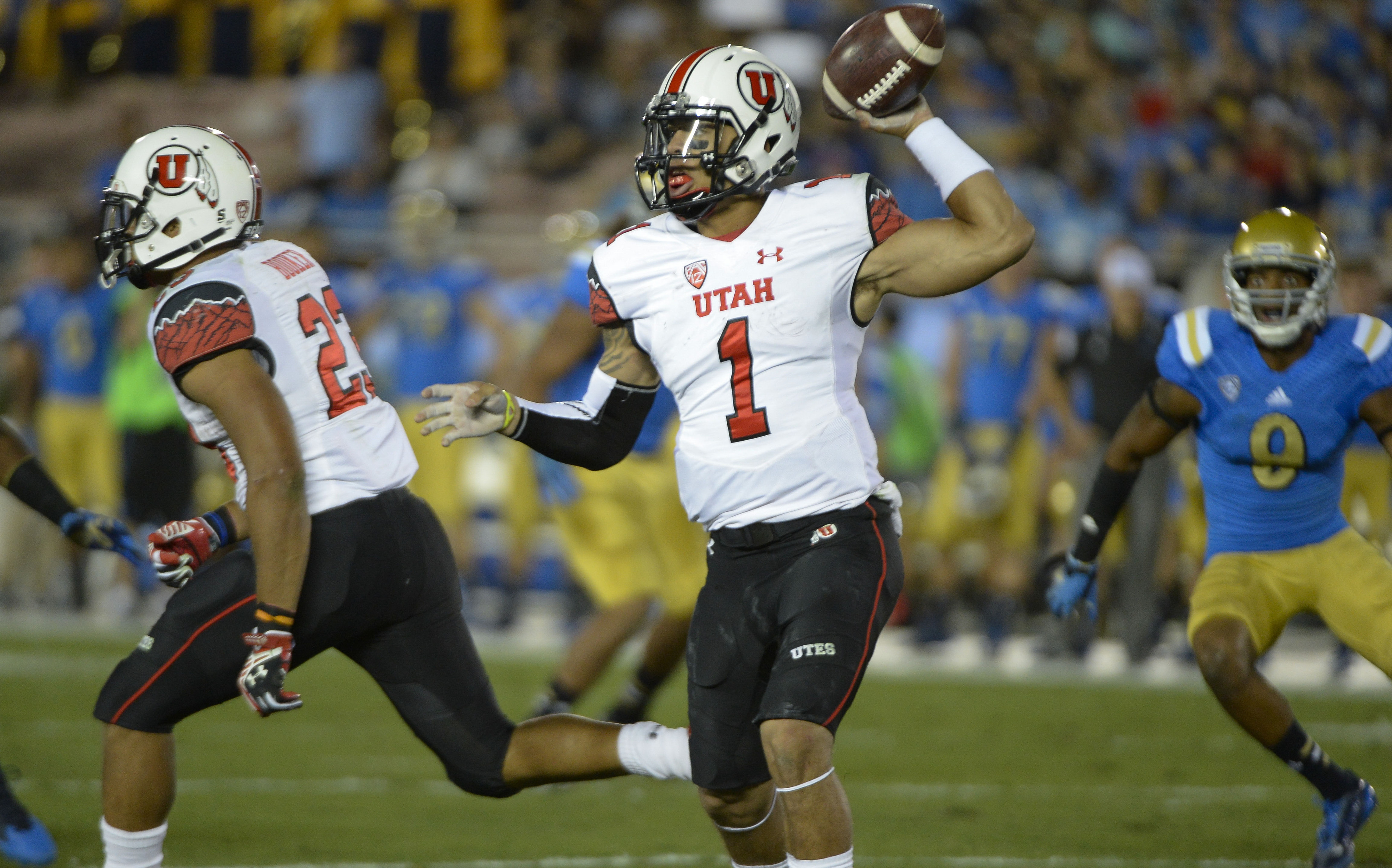 Utah quarterback Kendal Thompson is listed as the co-starter heading into the Utes' big game in Corvallis, Ore.