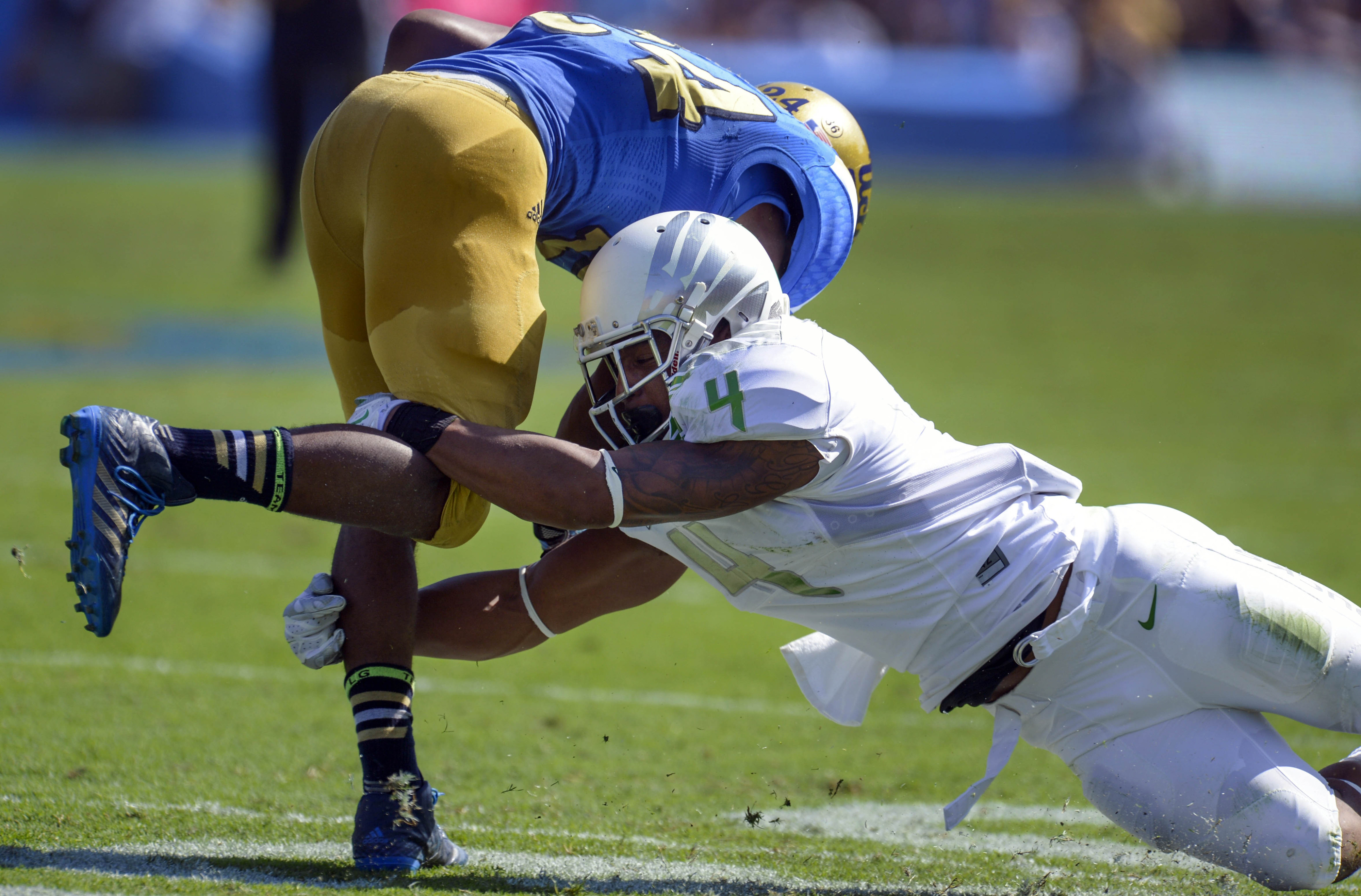 Another year where UCLA has been tripped up by the top of the Pac-12 conference.