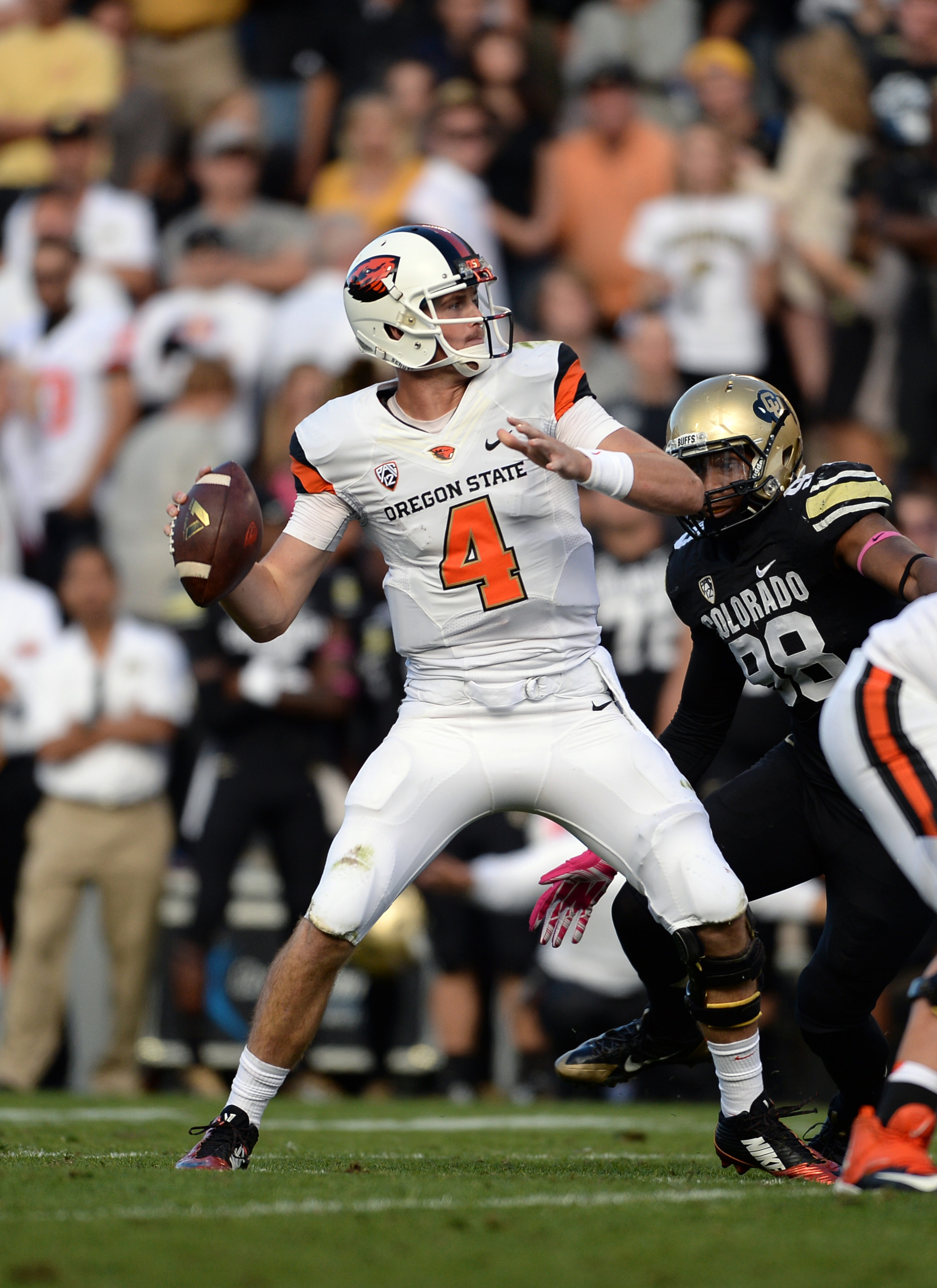 The Utah defense will be especially wary of Oregon State quarterback Sean Mannion, who last season torched the Utes for 443 yards passing and five touchdowns.
