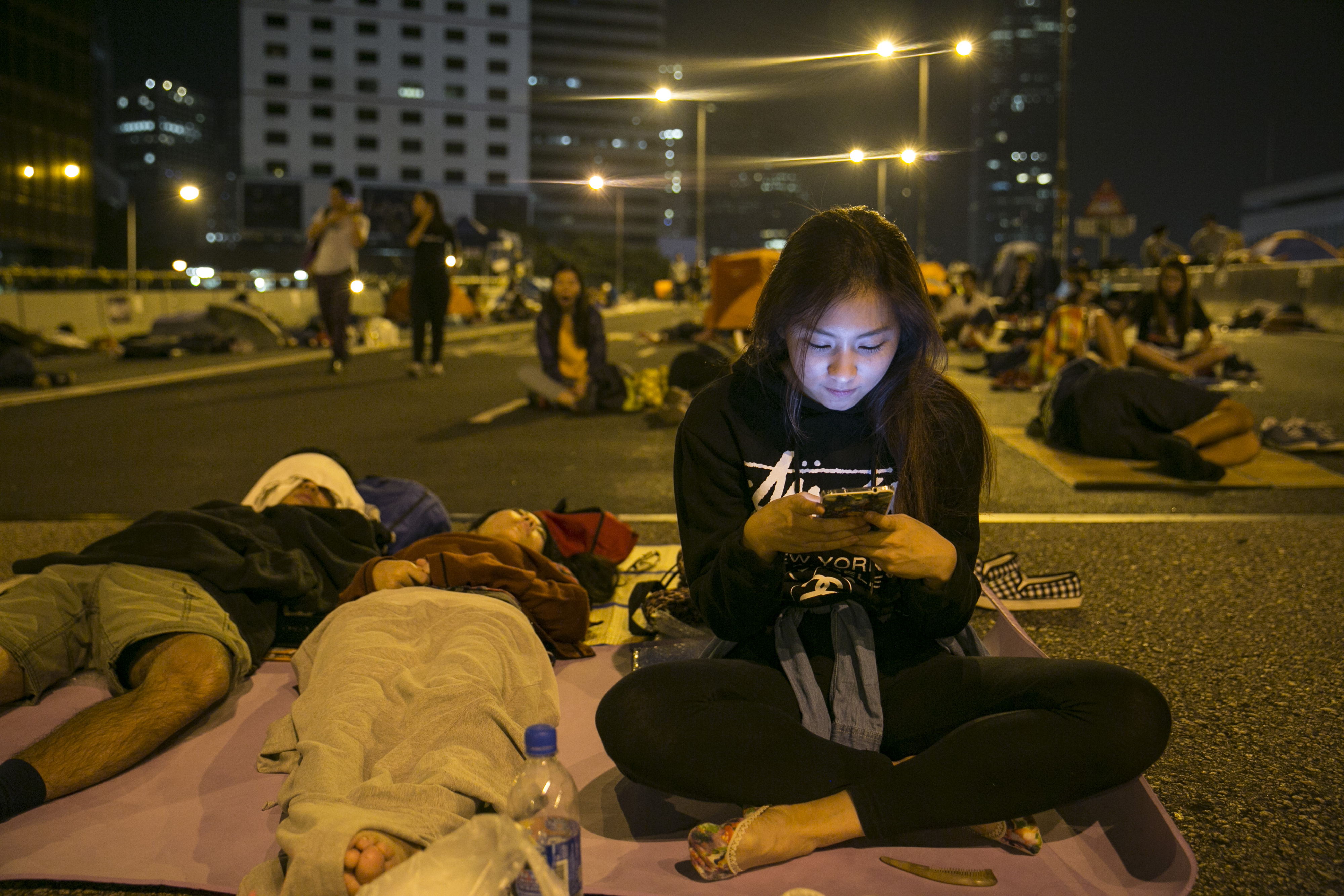 Why a messaging app meant for festivals became massively popular during Hong Kong protests