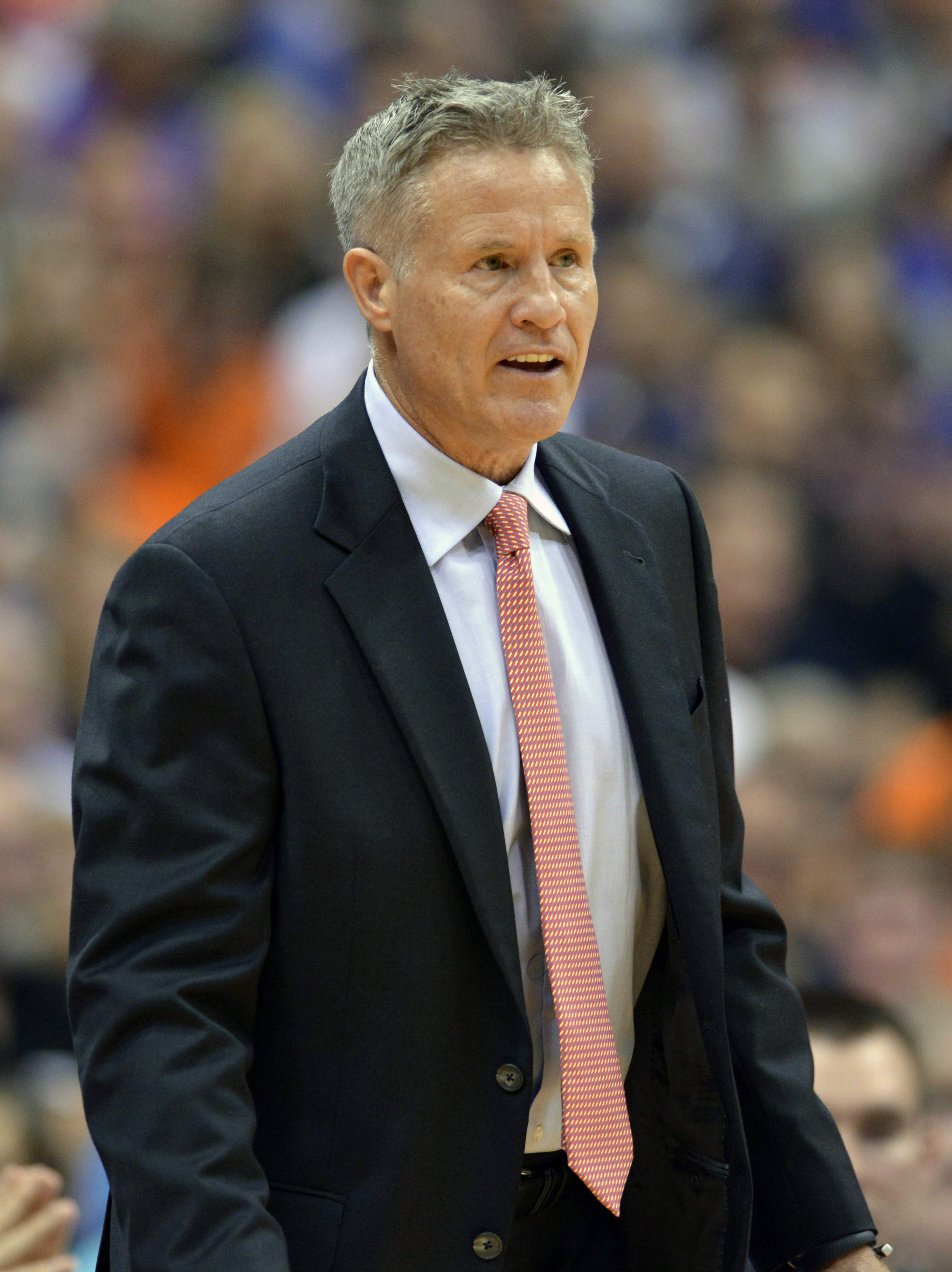 Brett Brown is a super positive guy. Otherwise, he would've resigned this offseason.