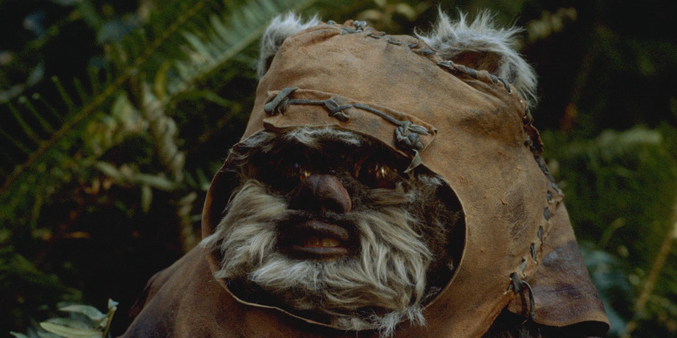 Promotional shot of Wicket W. Warrick from 'Star Wars: Episode VI Return of the Jedi'