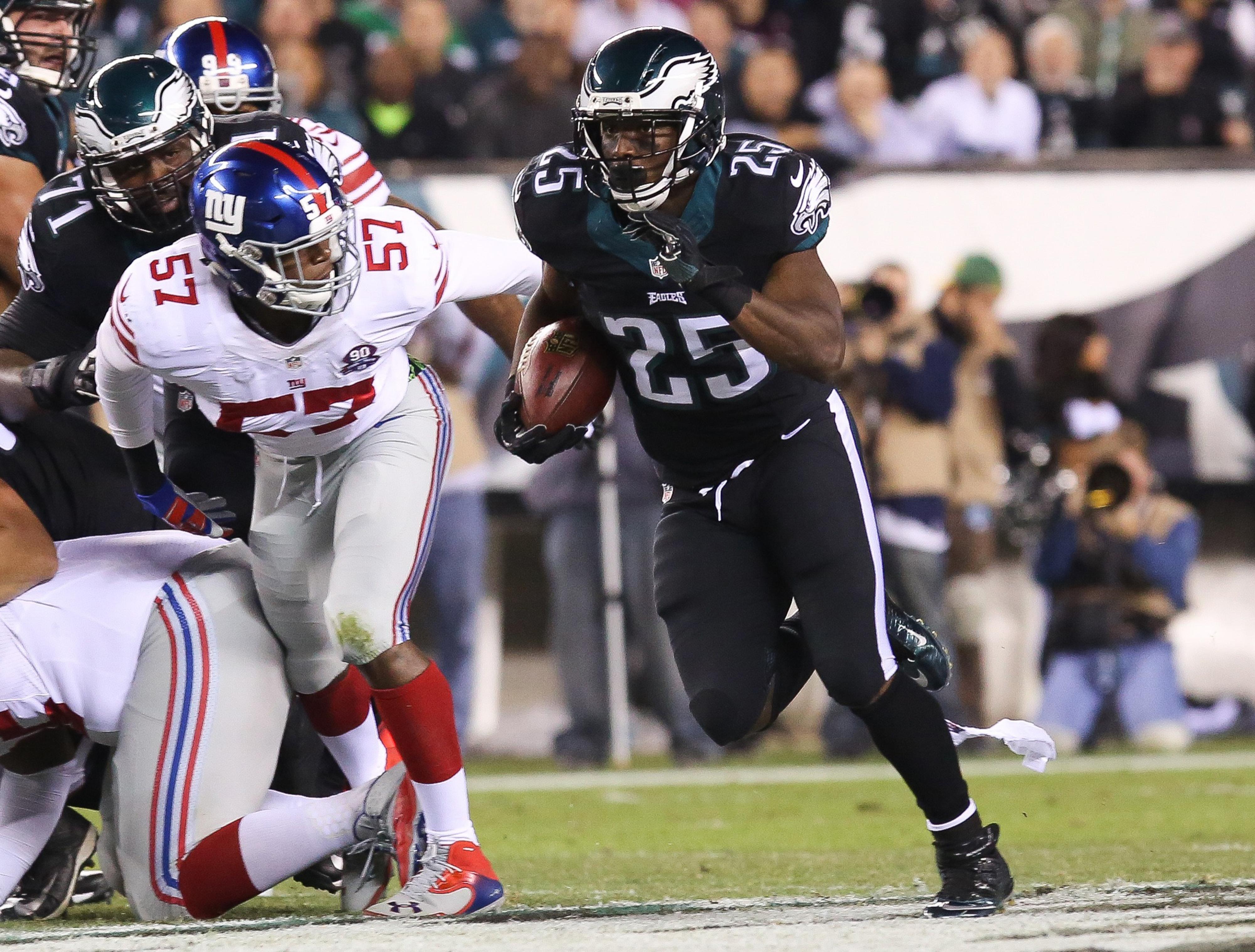 LeSean McCoy ran wild vs. the Giants. Will DeMarco Murray do the same?