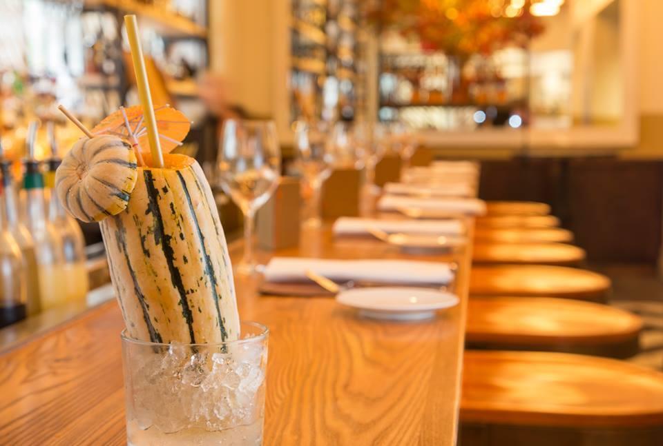 New York Restaurant Serves Fall-Themed Cocktail Inside a Delicata Squash