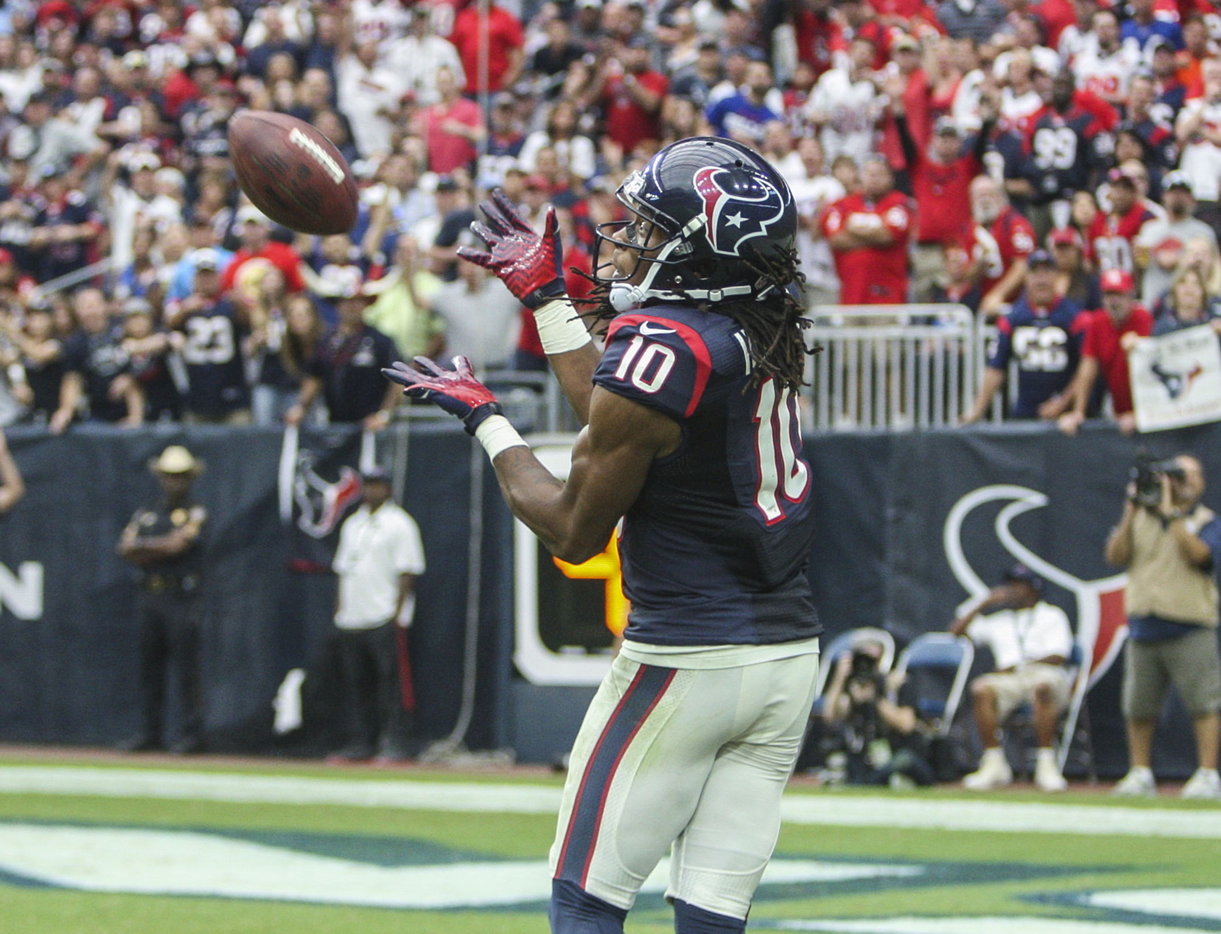 Find that end zone again, Nuk.
