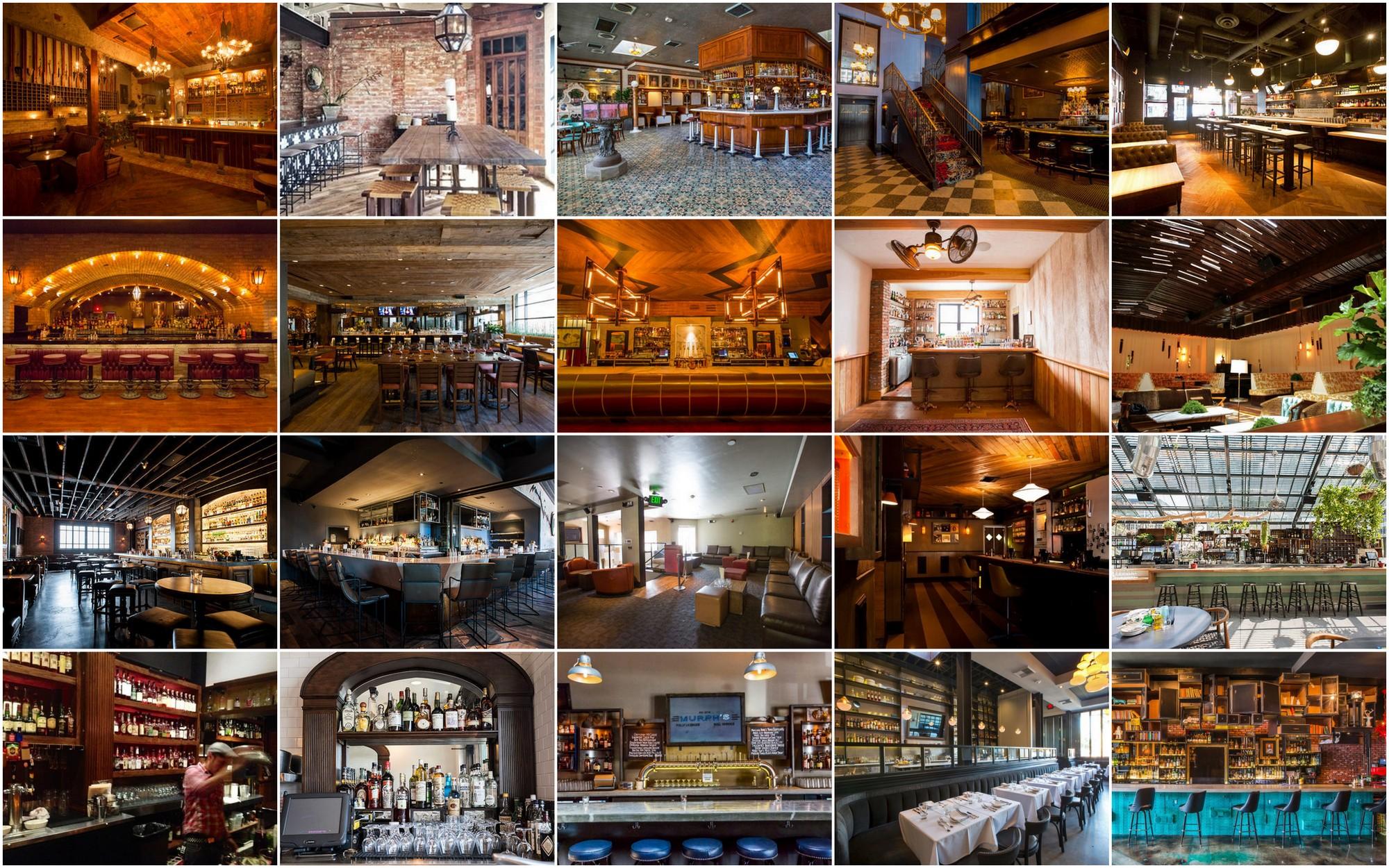 Cocktail Heatmap Los Angeles October 2014