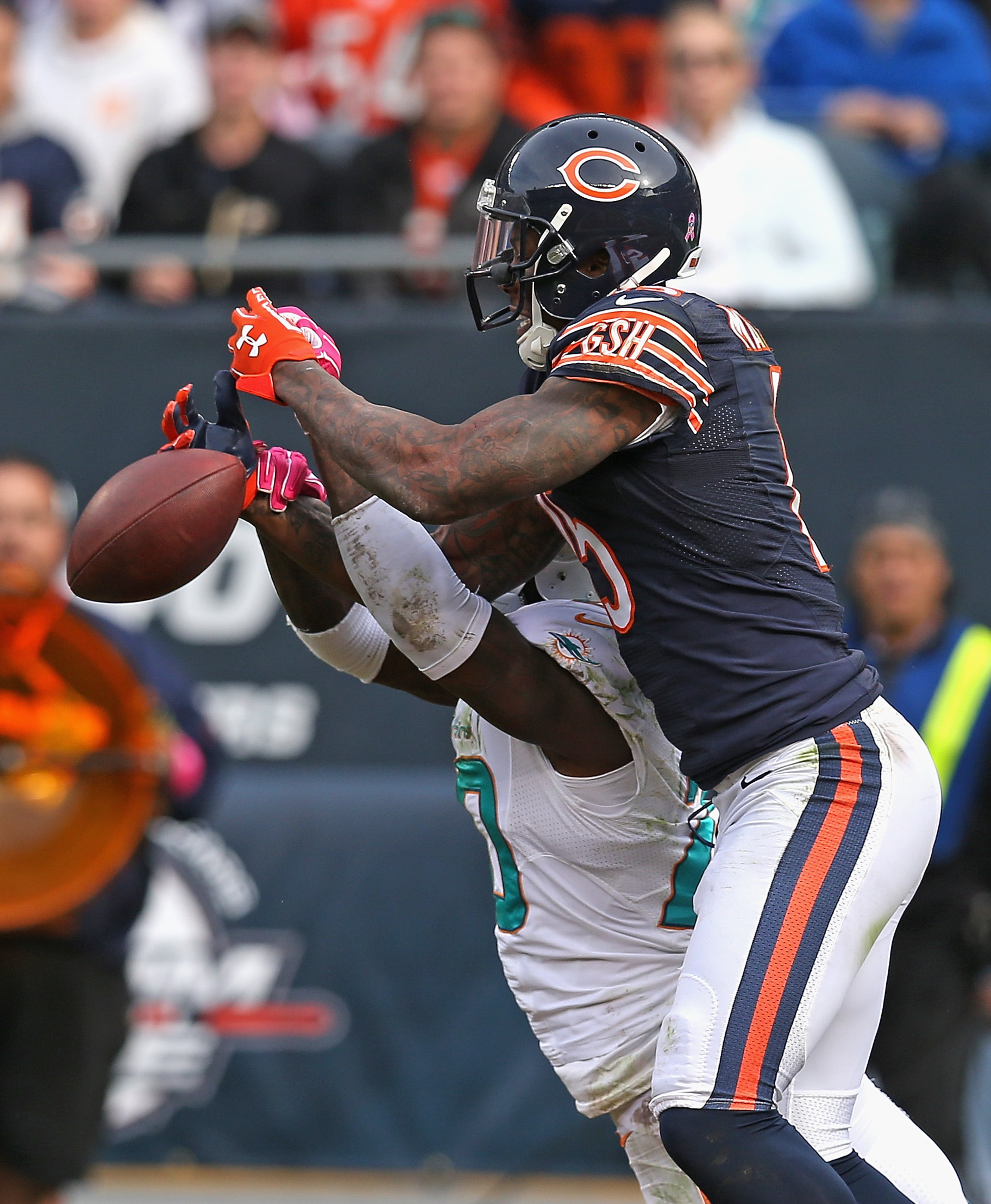Brandon Marshall is not happy with the Chicago Bears